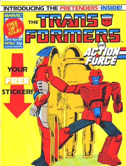 The Transformers (UK) 162 Page 1