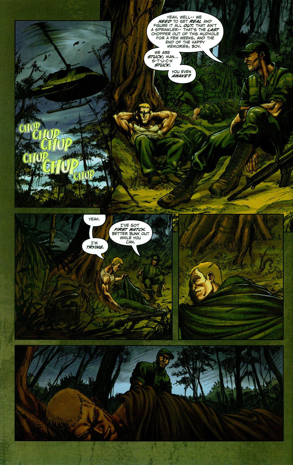 Read online Snake Eyes: Declassified comic -  Issue #1 - 8