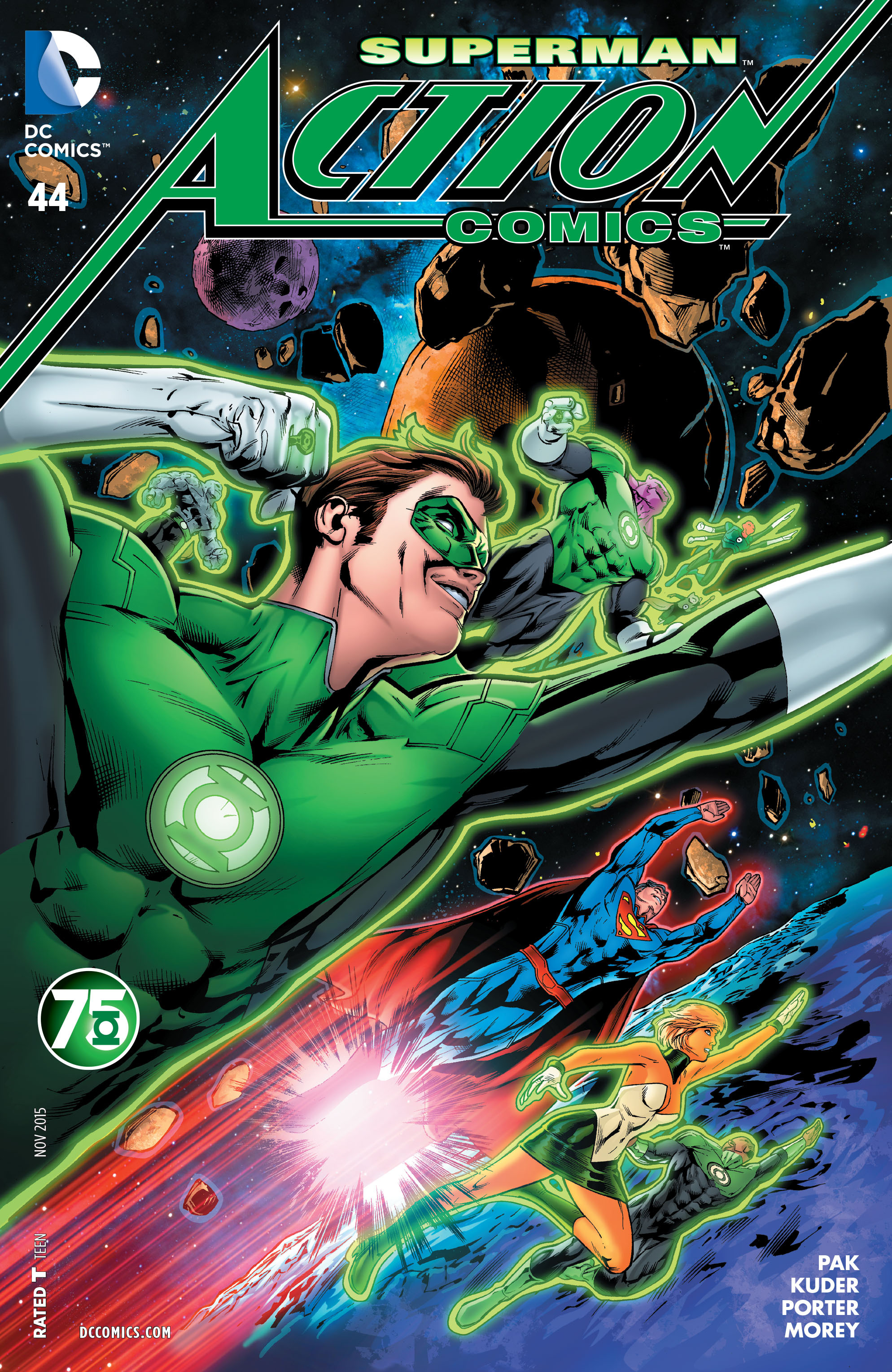 Read online Action Comics (2011) comic -  Issue #44 - 3