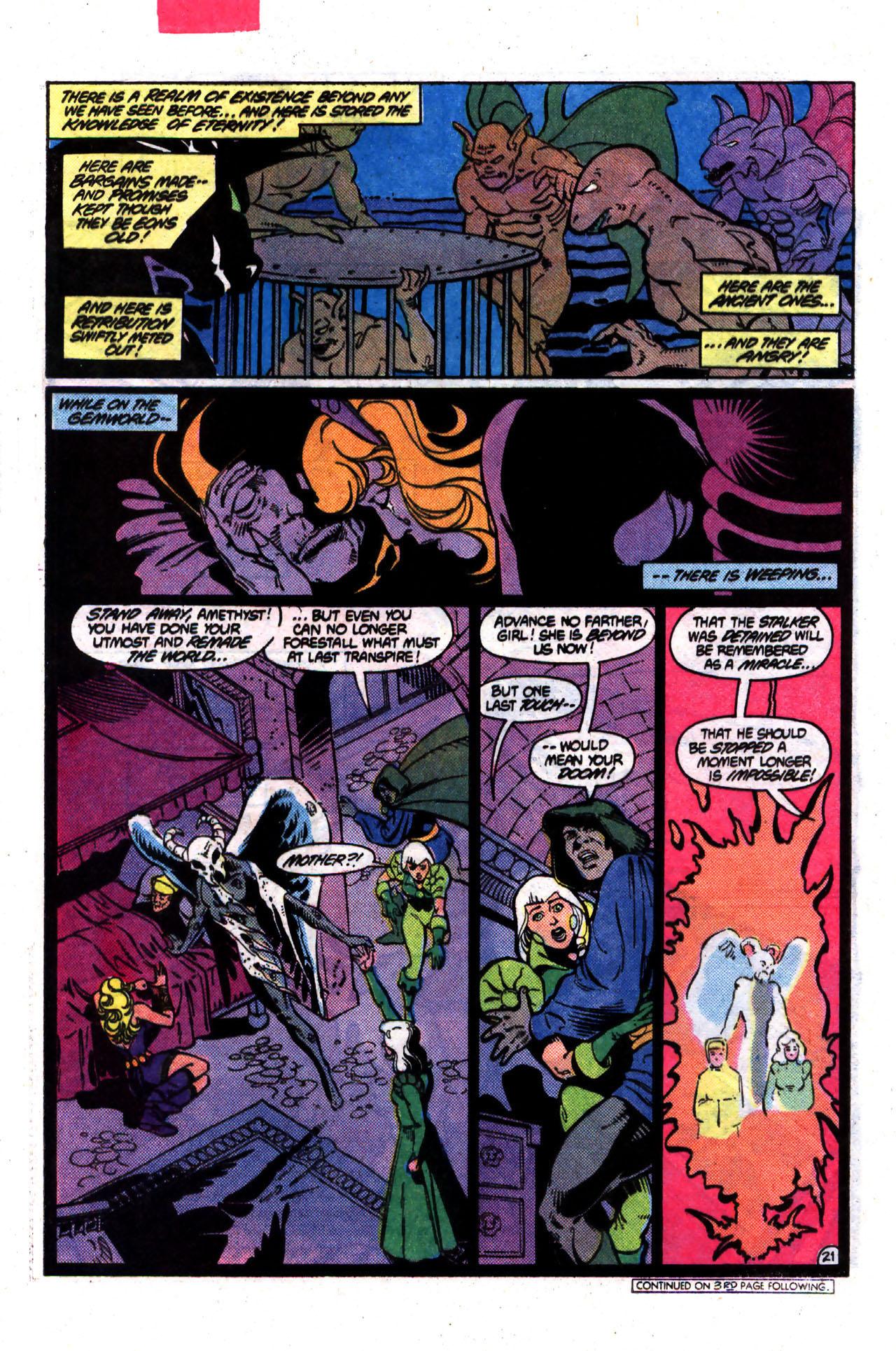 Read online Amethyst (1985) comic -  Issue #8 - 21