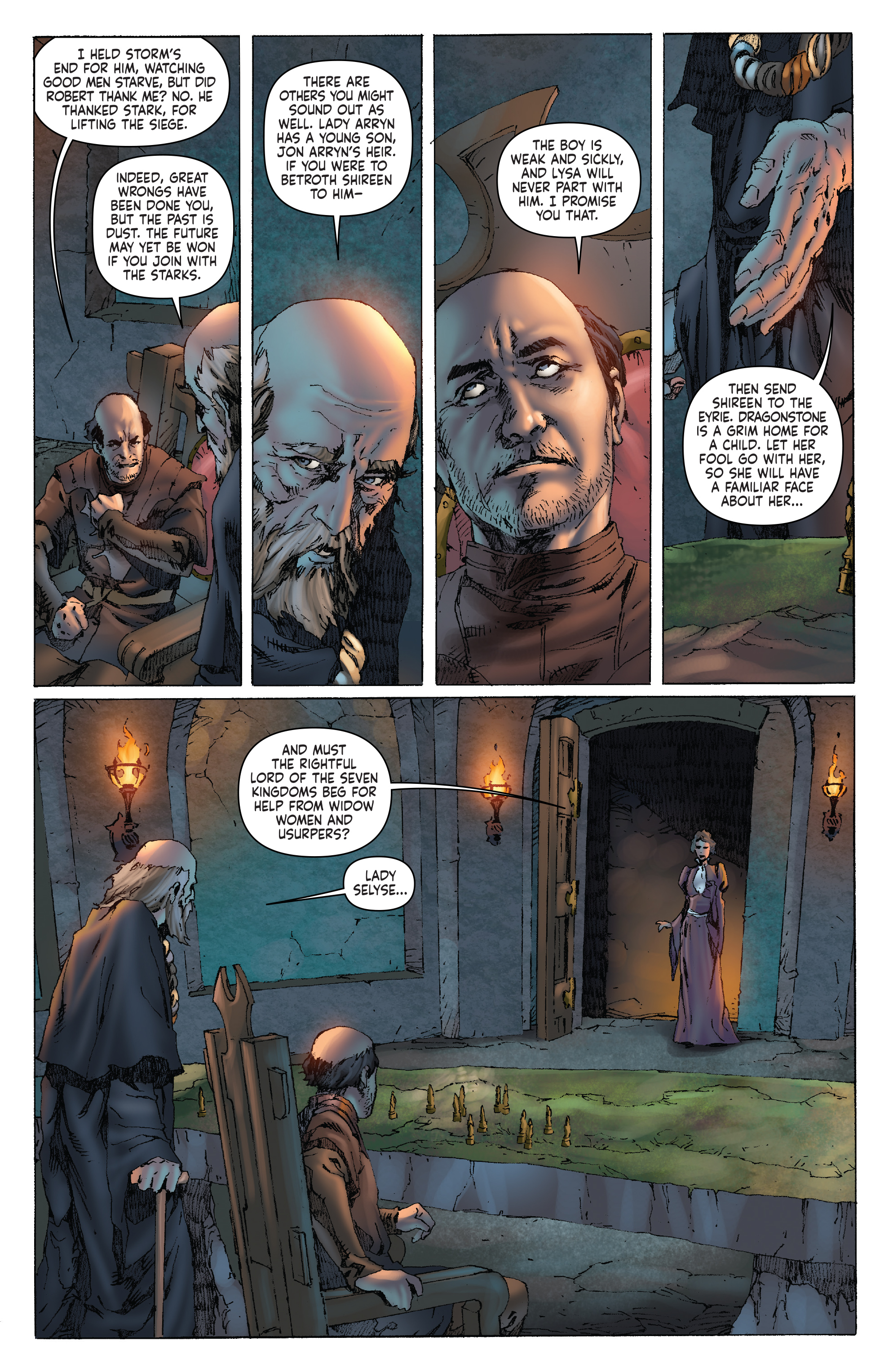 Read online A Clash of Kings comic -  Issue #1 - 18