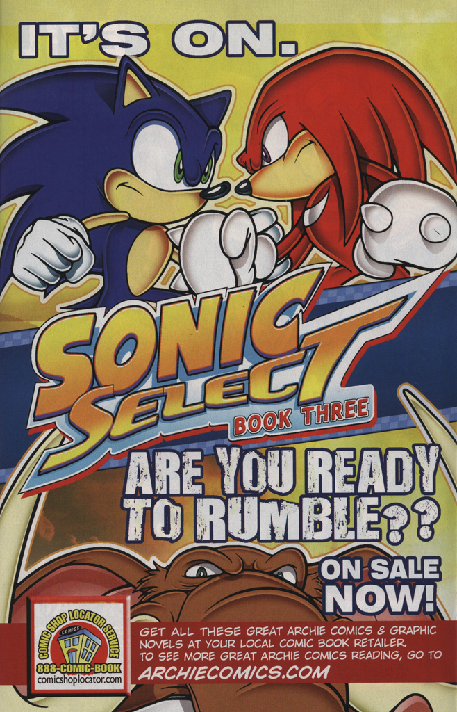 Read online Sonic the Hedgehog Free Comic Book Day Edition comic -  Issue # Special 5 - 11