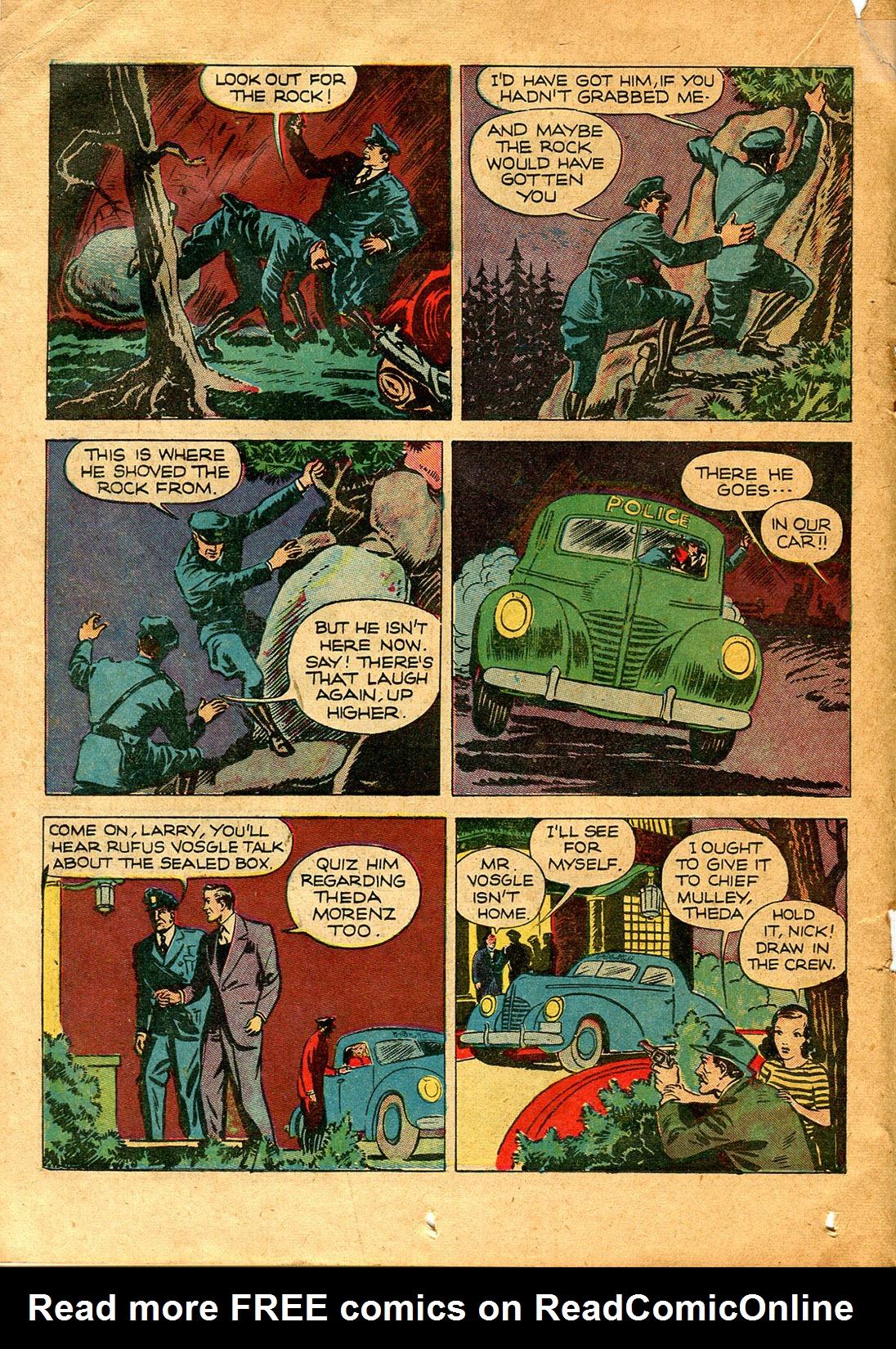 Read online Shadow Comics comic -  Issue #9 - 32