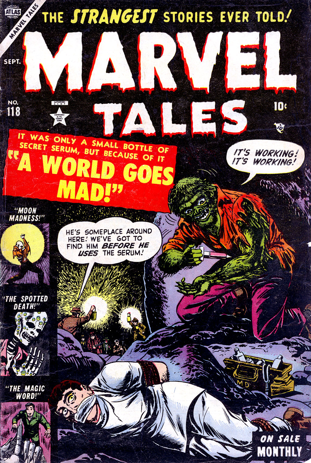 Marvel Tales (1949) issue 118 - Page 1