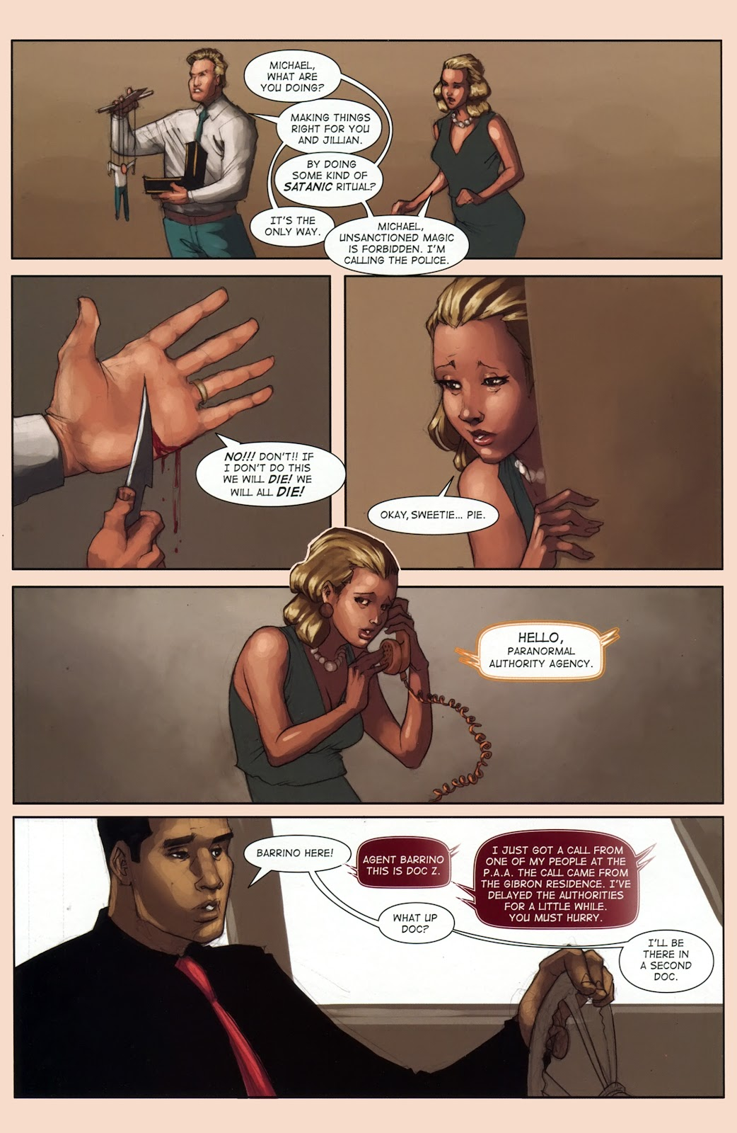 Read online Vescell comic -  Issue #1 - 28