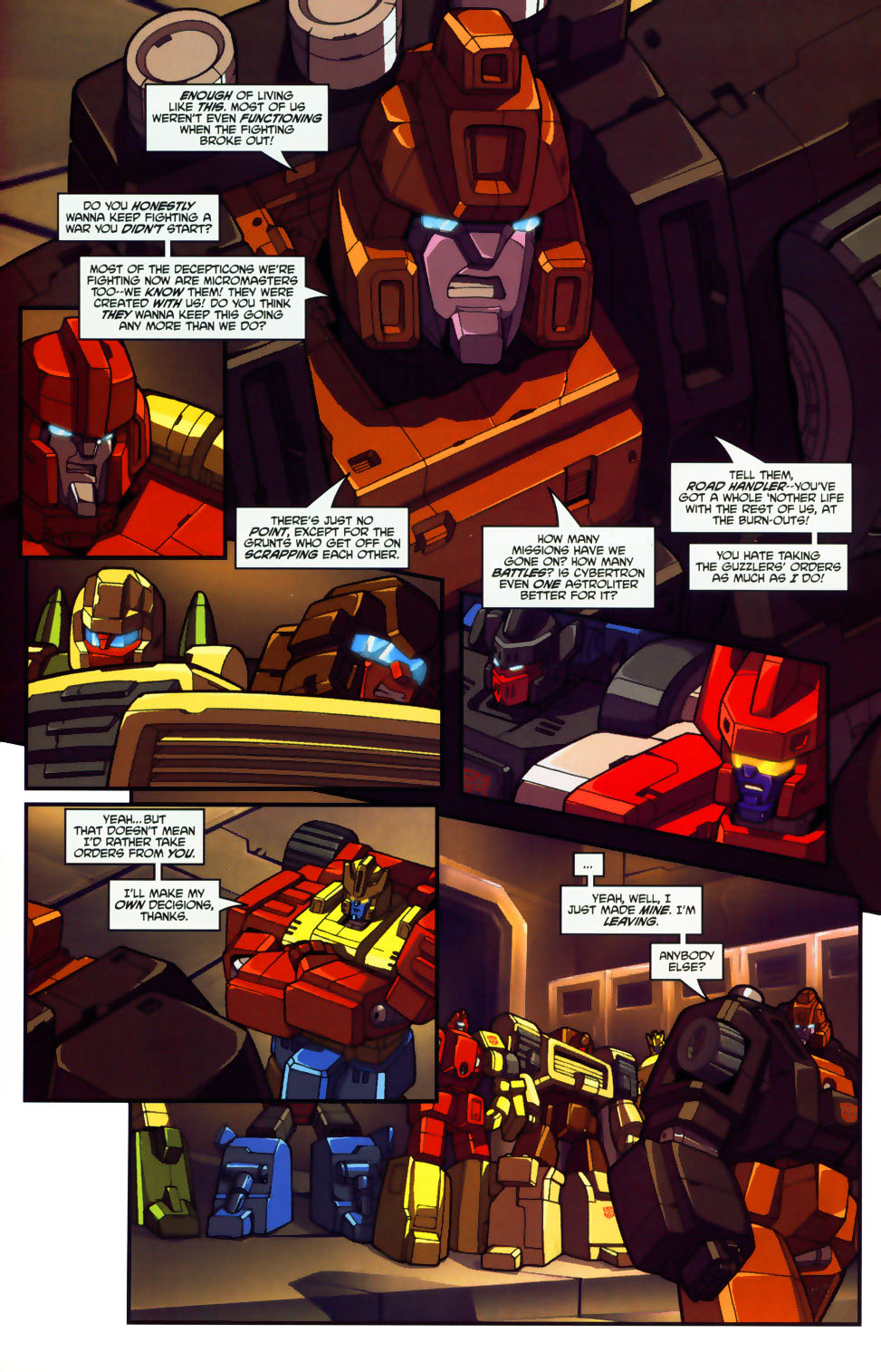 Read online Transformers: Micromasters comic -  Issue #1 - 20