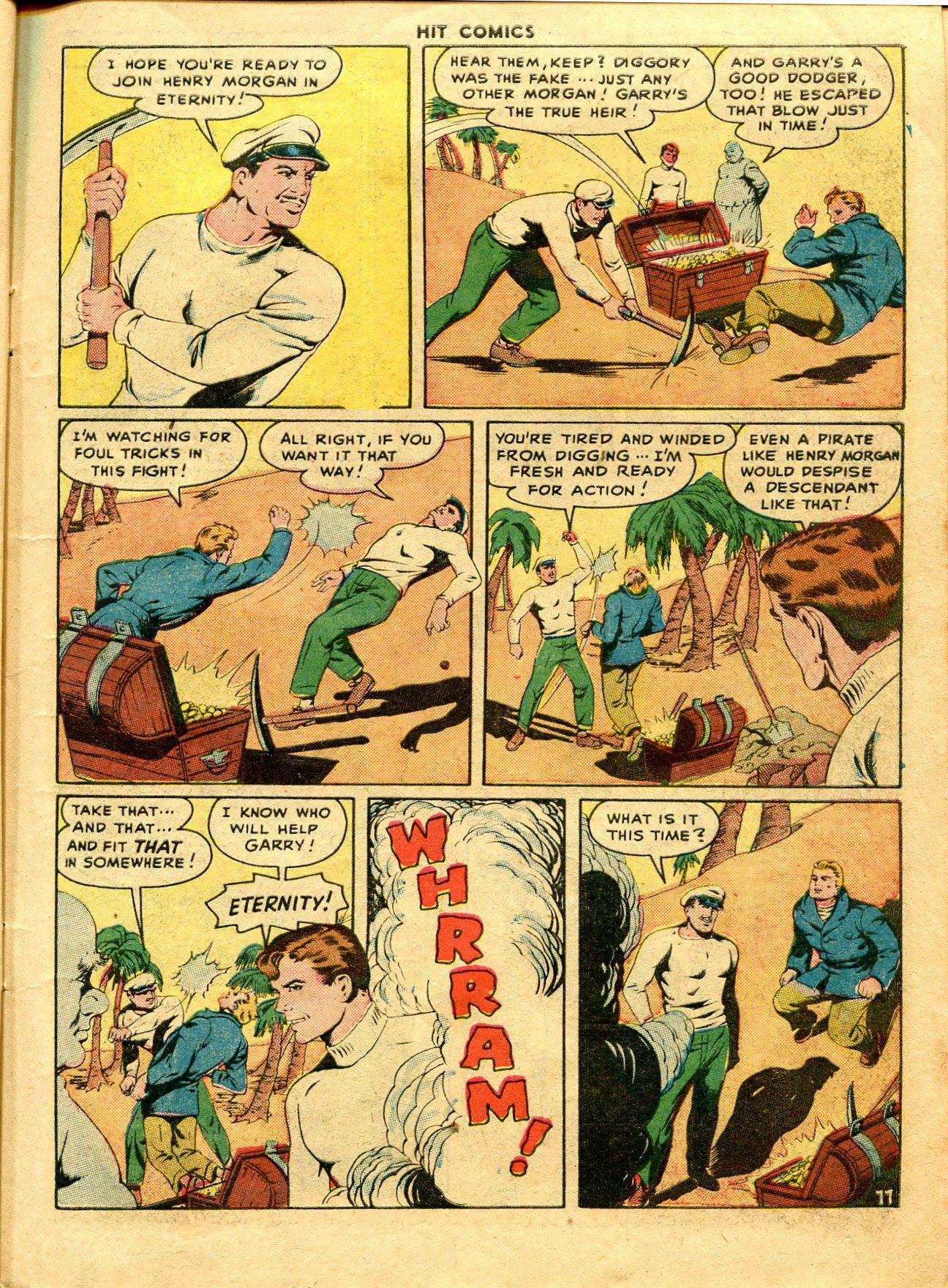 Read online Hit Comics comic -  Issue #48 - 13