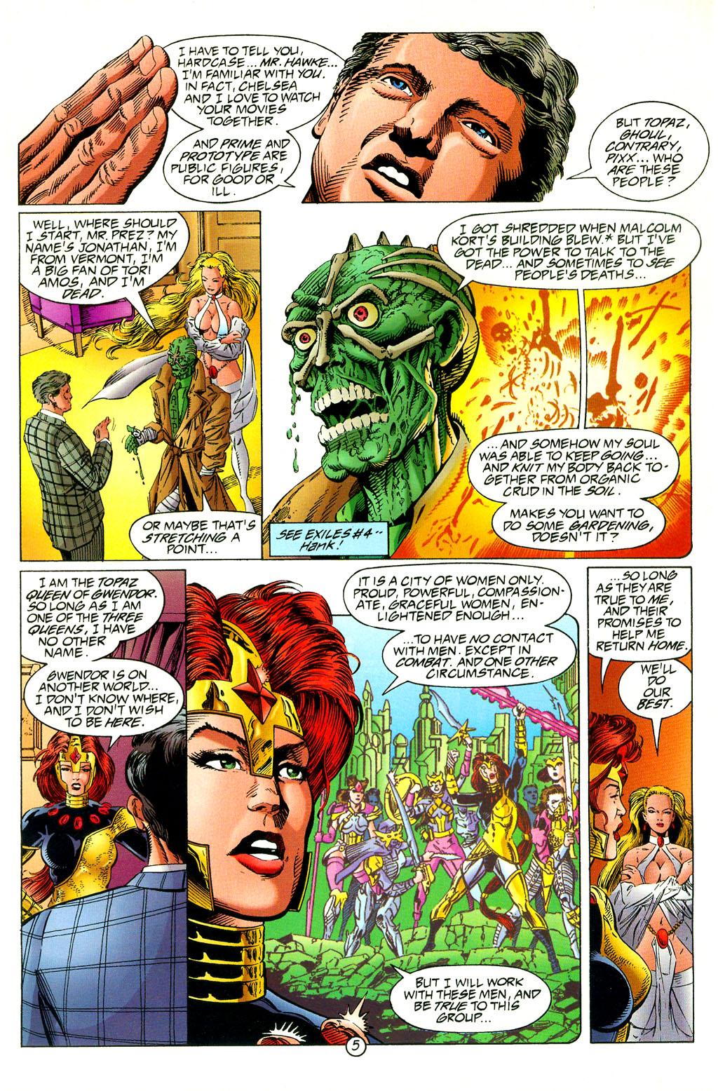 Read online UltraForce (1994) comic -  Issue #2 - 6