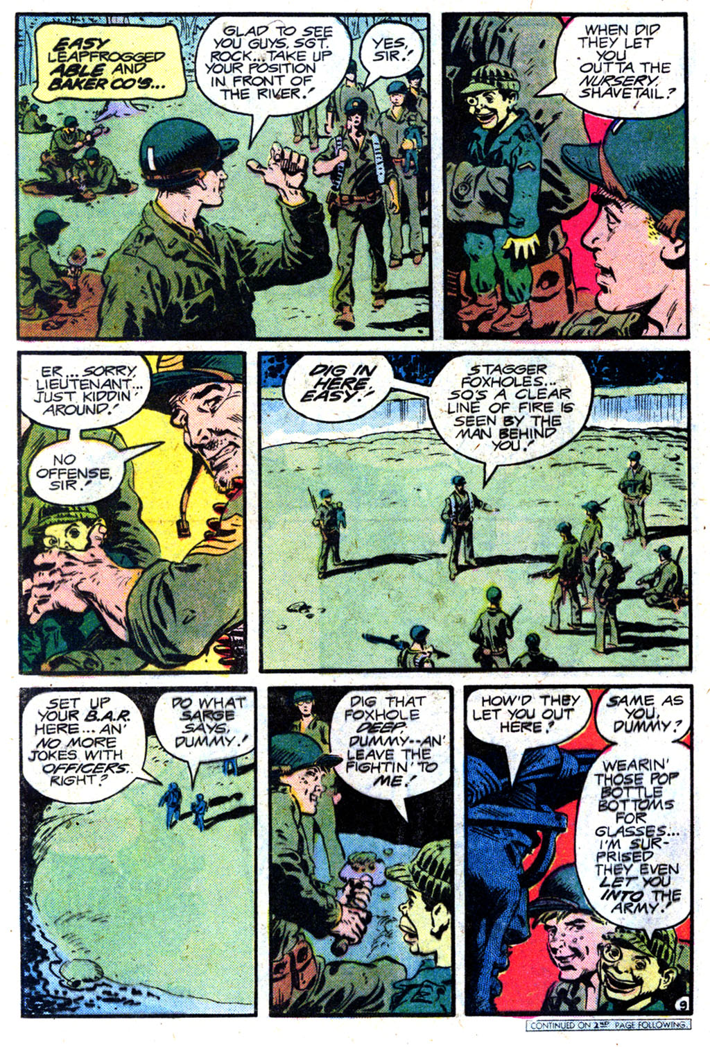 Read online Sgt. Rock comic -  Issue #349 - 9