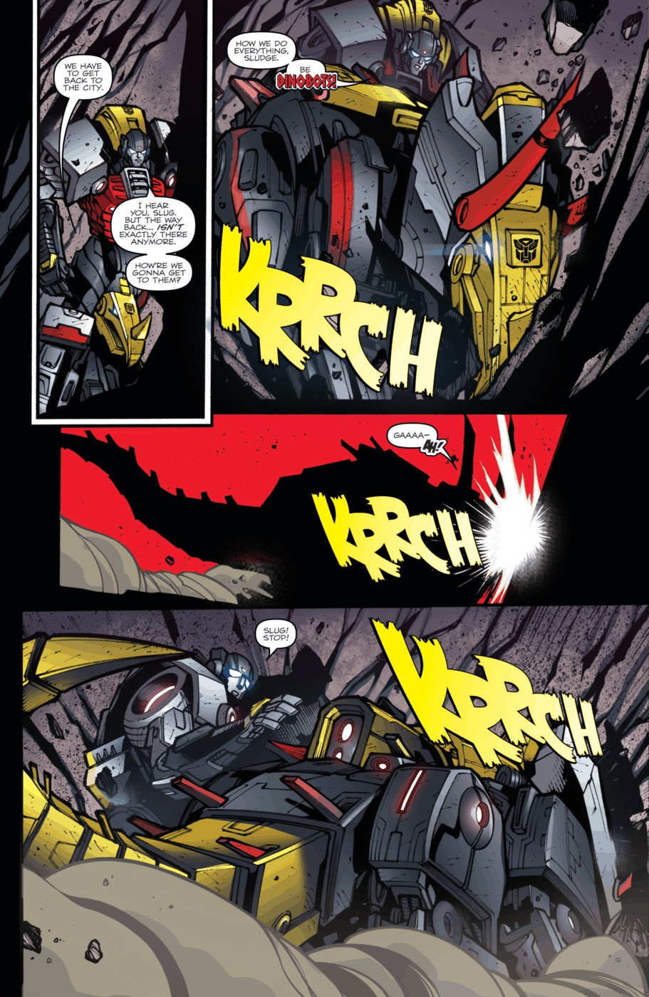Read online Transformers Prime: Beast Hunters comic -  Issue #5 - 11
