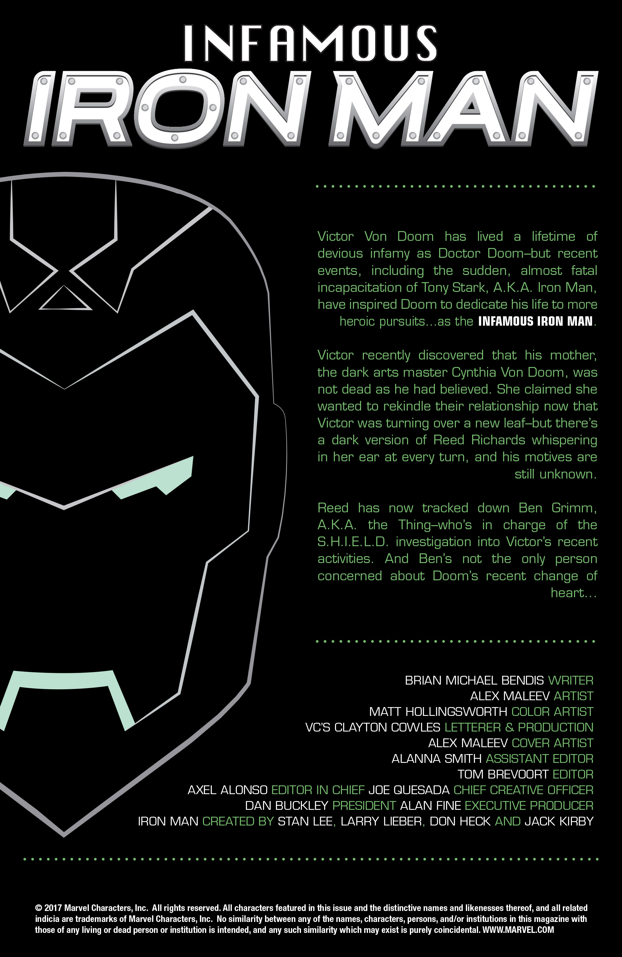 Read online Infamous Iron Man comic -  Issue #8 - 2