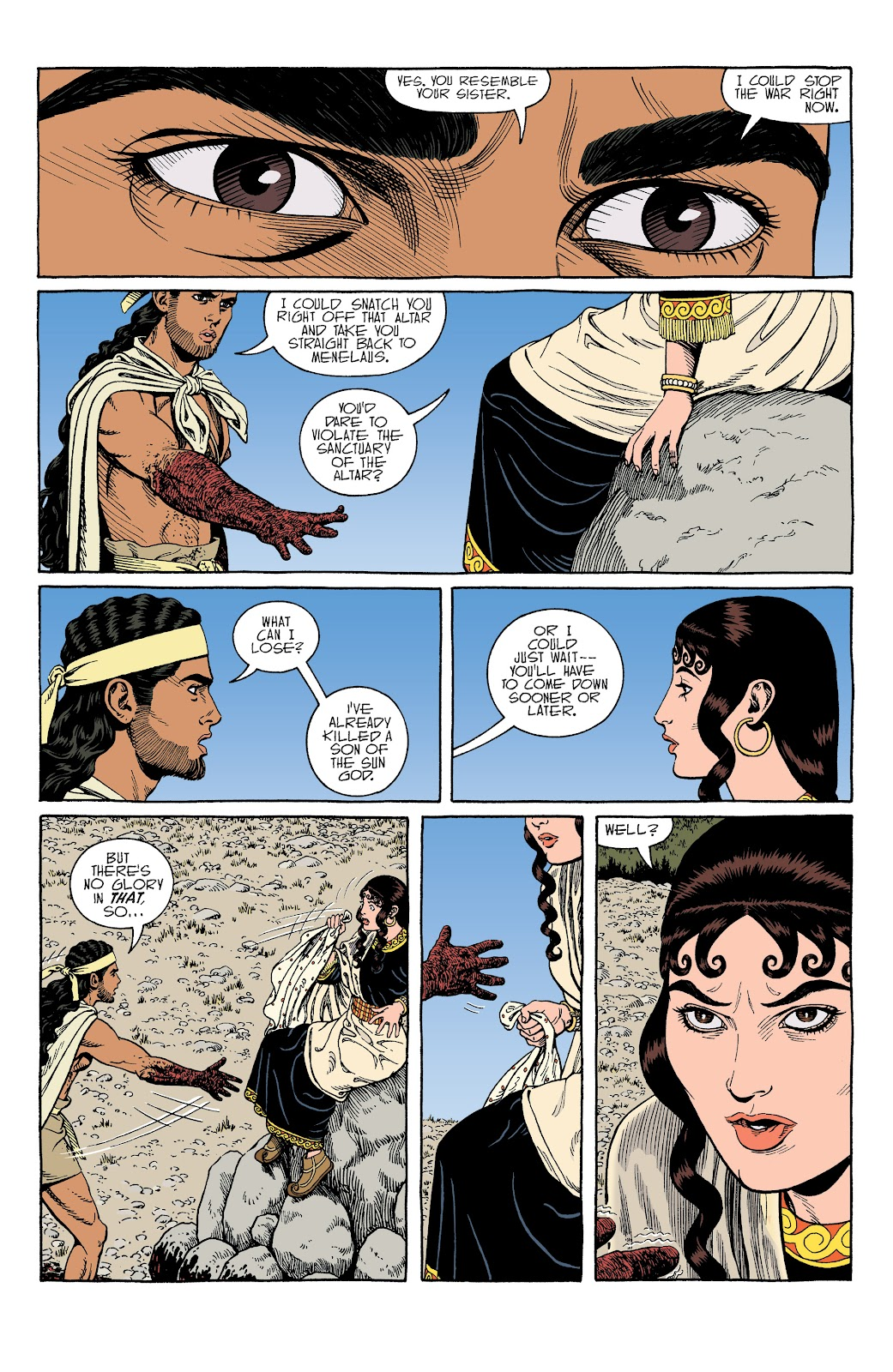 Read online Age of Bronze comic -  Issue #34 - 19