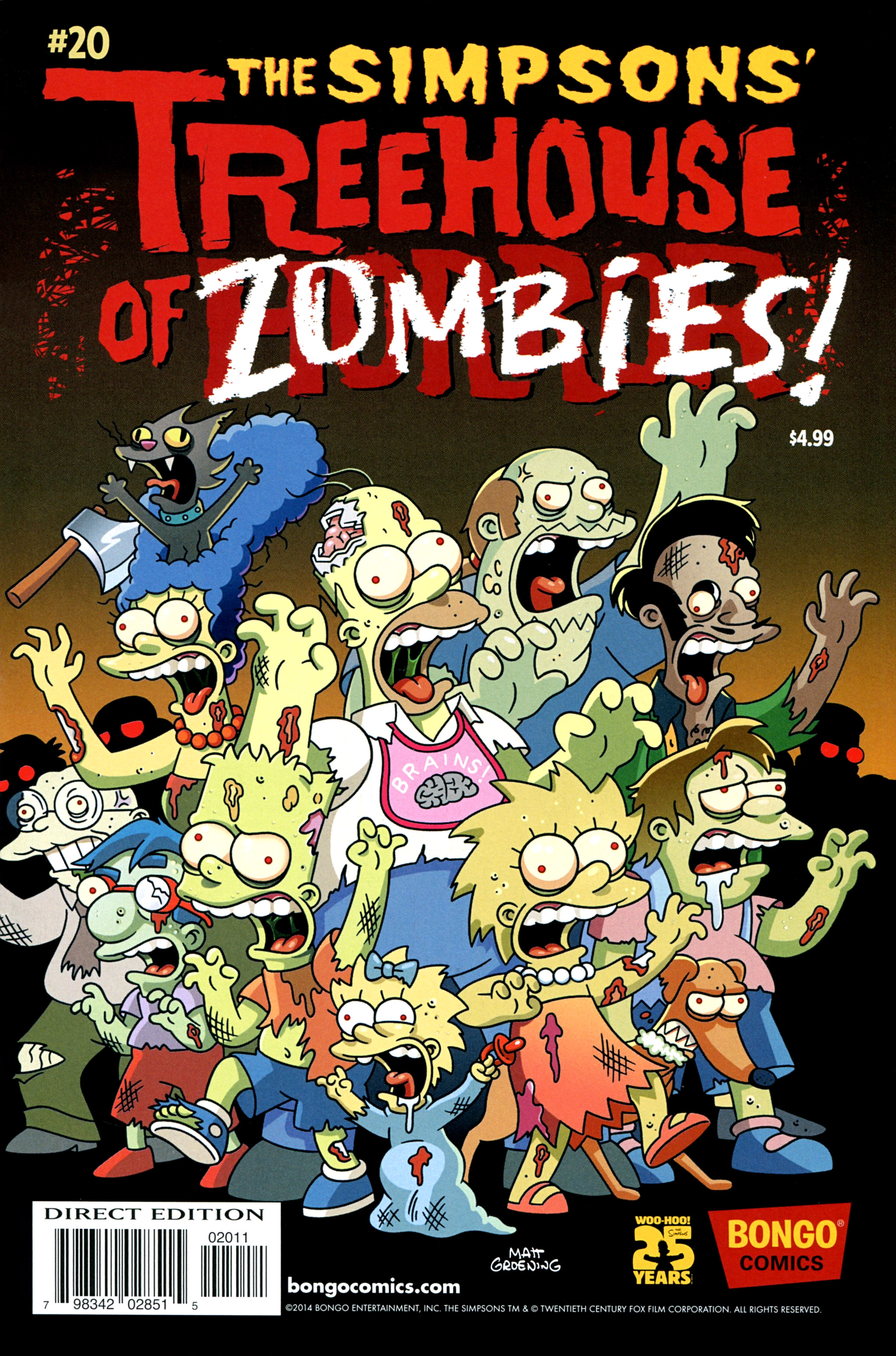 Read online Treehouse of Horror comic -  Issue #20 - 1