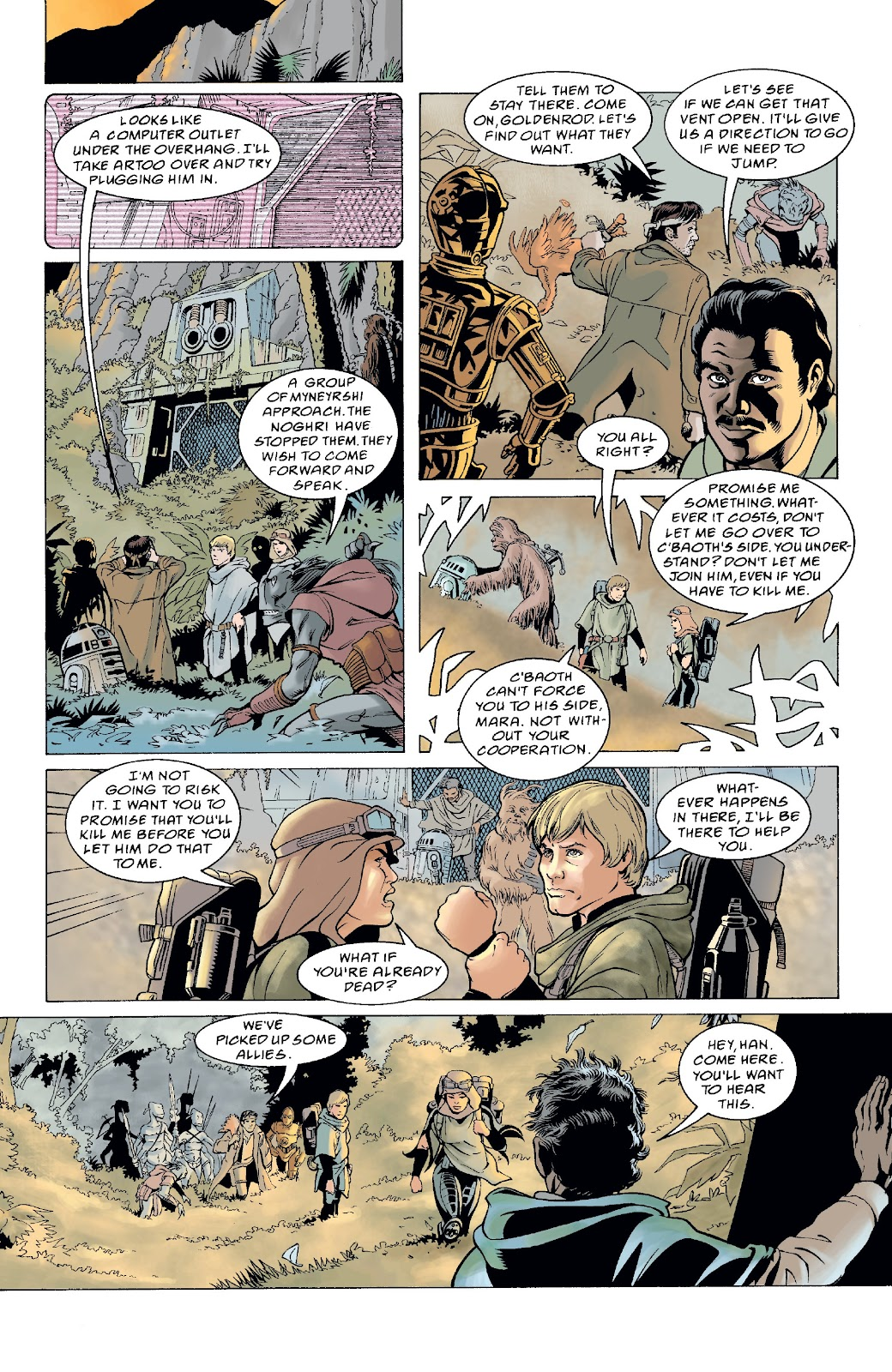 Read online Star Wars Legends: The New Republic - Epic Collection comic -  Issue # TPB 4 (Part 5) - 11