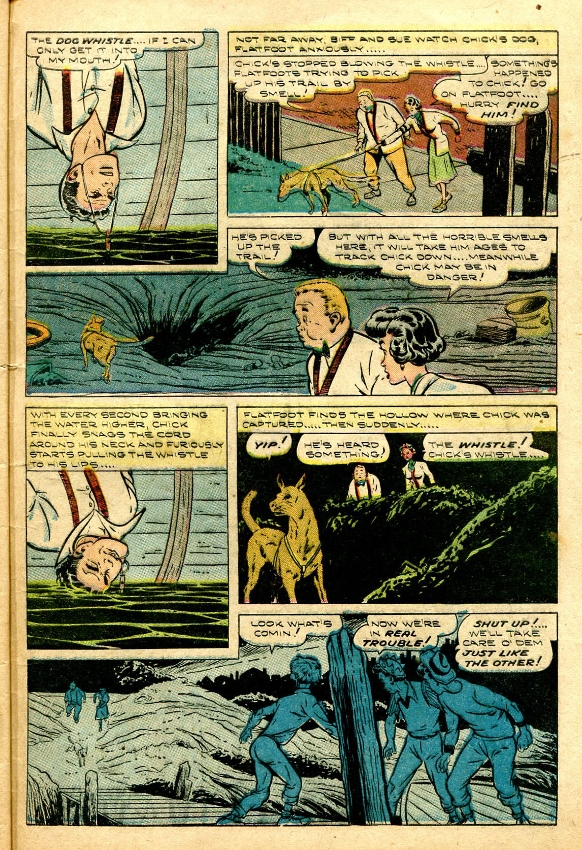 Read online Shadow Comics comic -  Issue #96 - 45