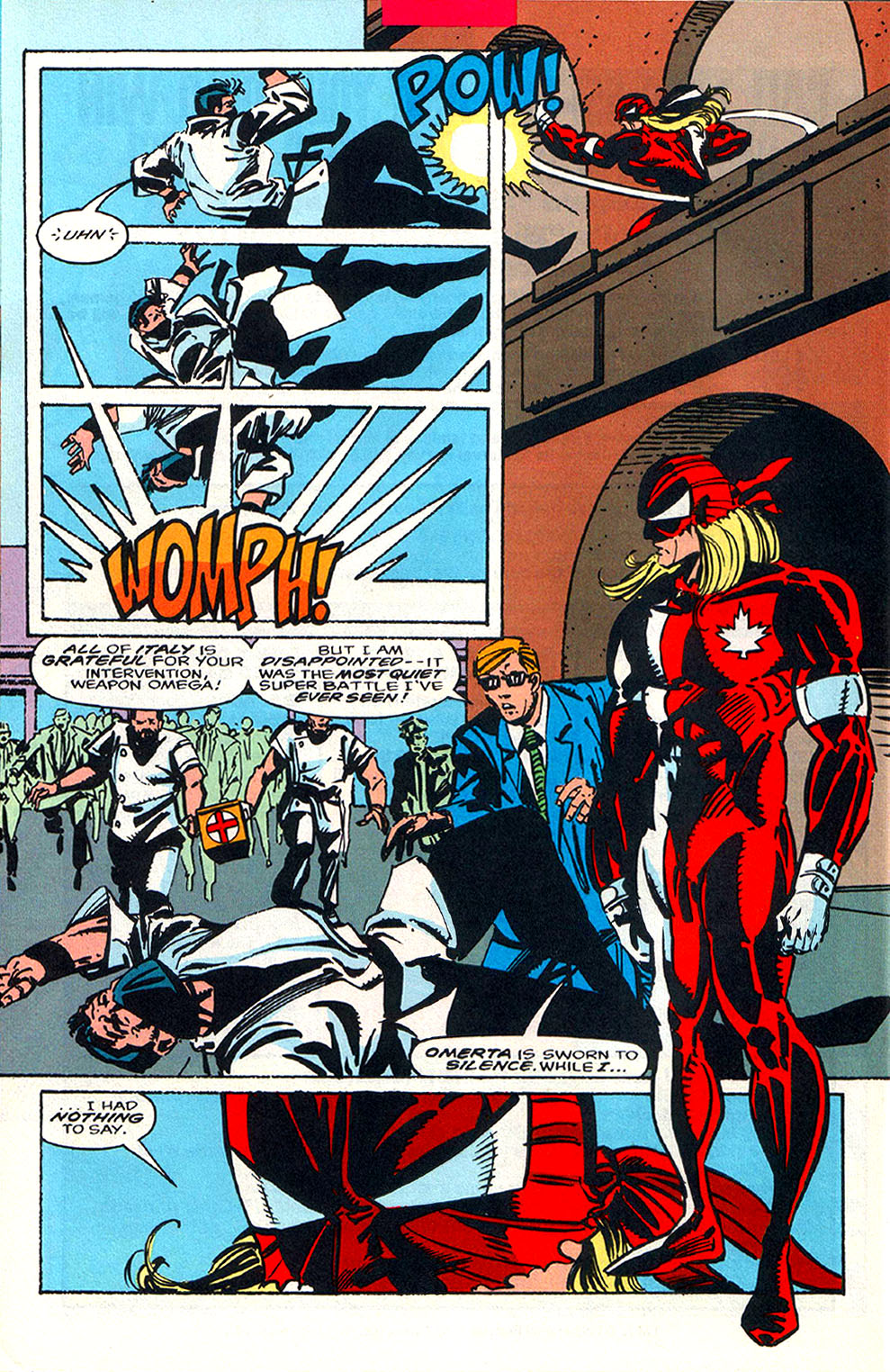 Read online Alpha Flight (1983) comic -  Issue #108 - 20