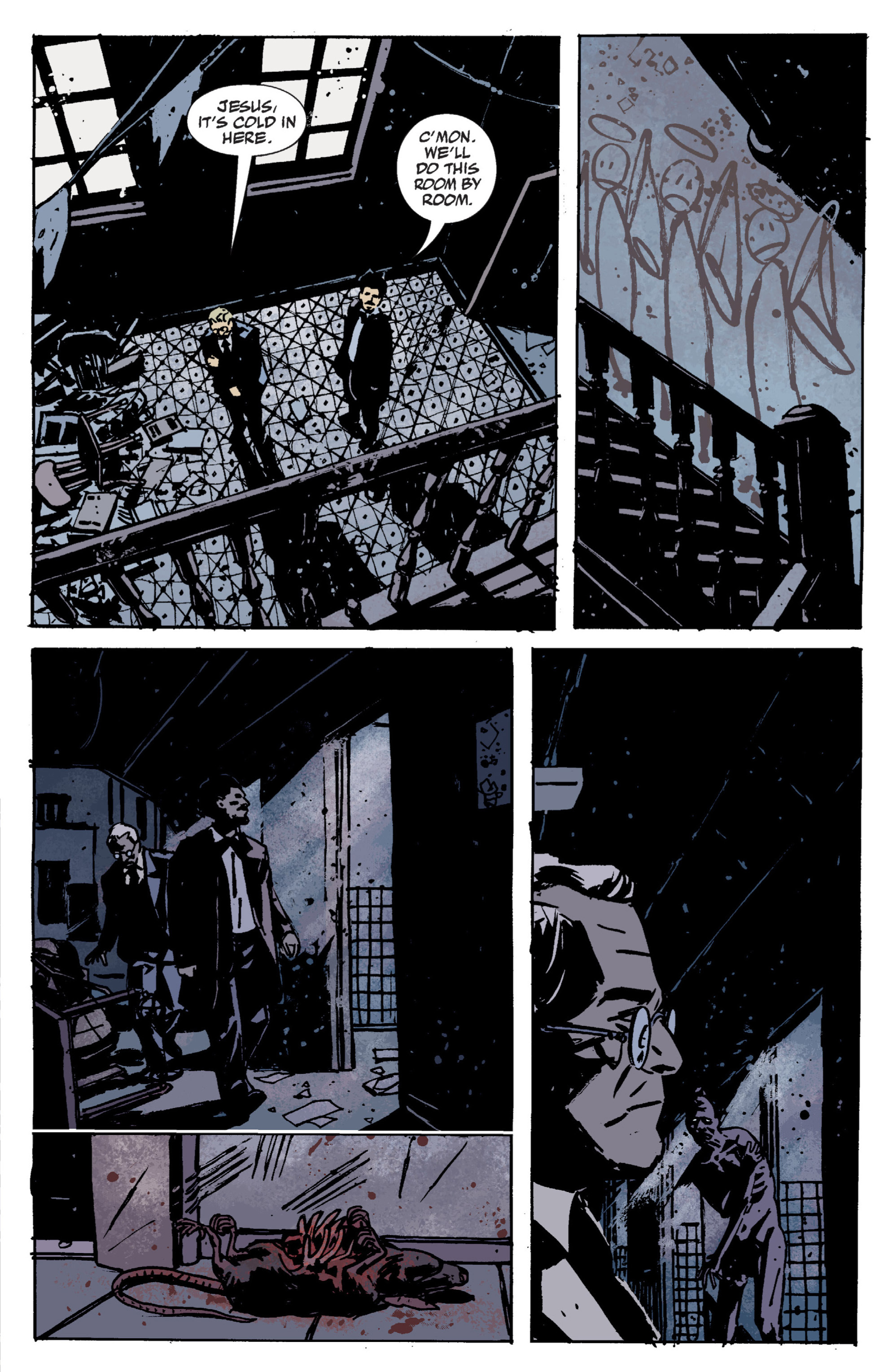 Read online B.P.R.D. (2003) comic -  Issue # TPB 9 - 28