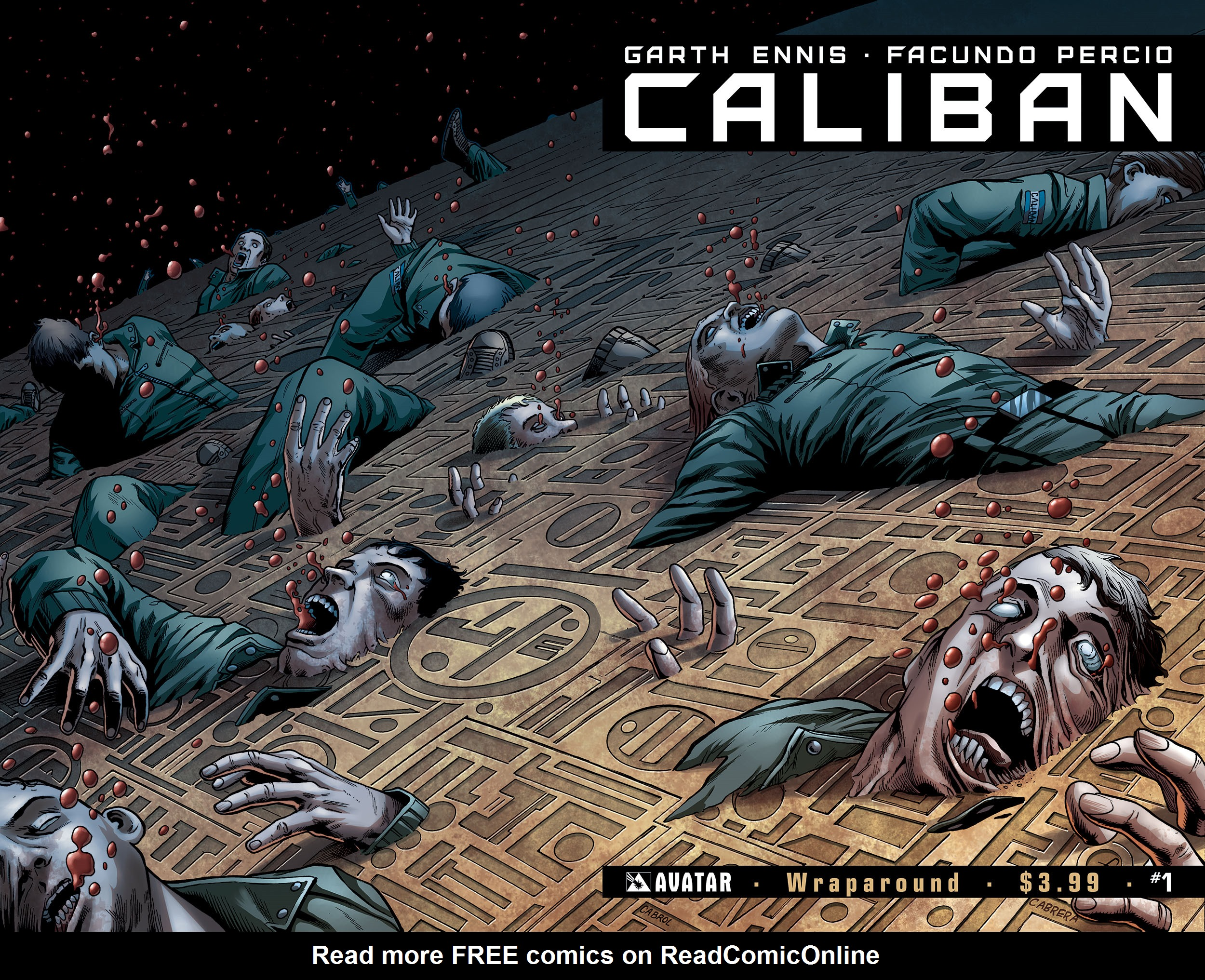 Read online Caliban comic -  Issue #1 - 5