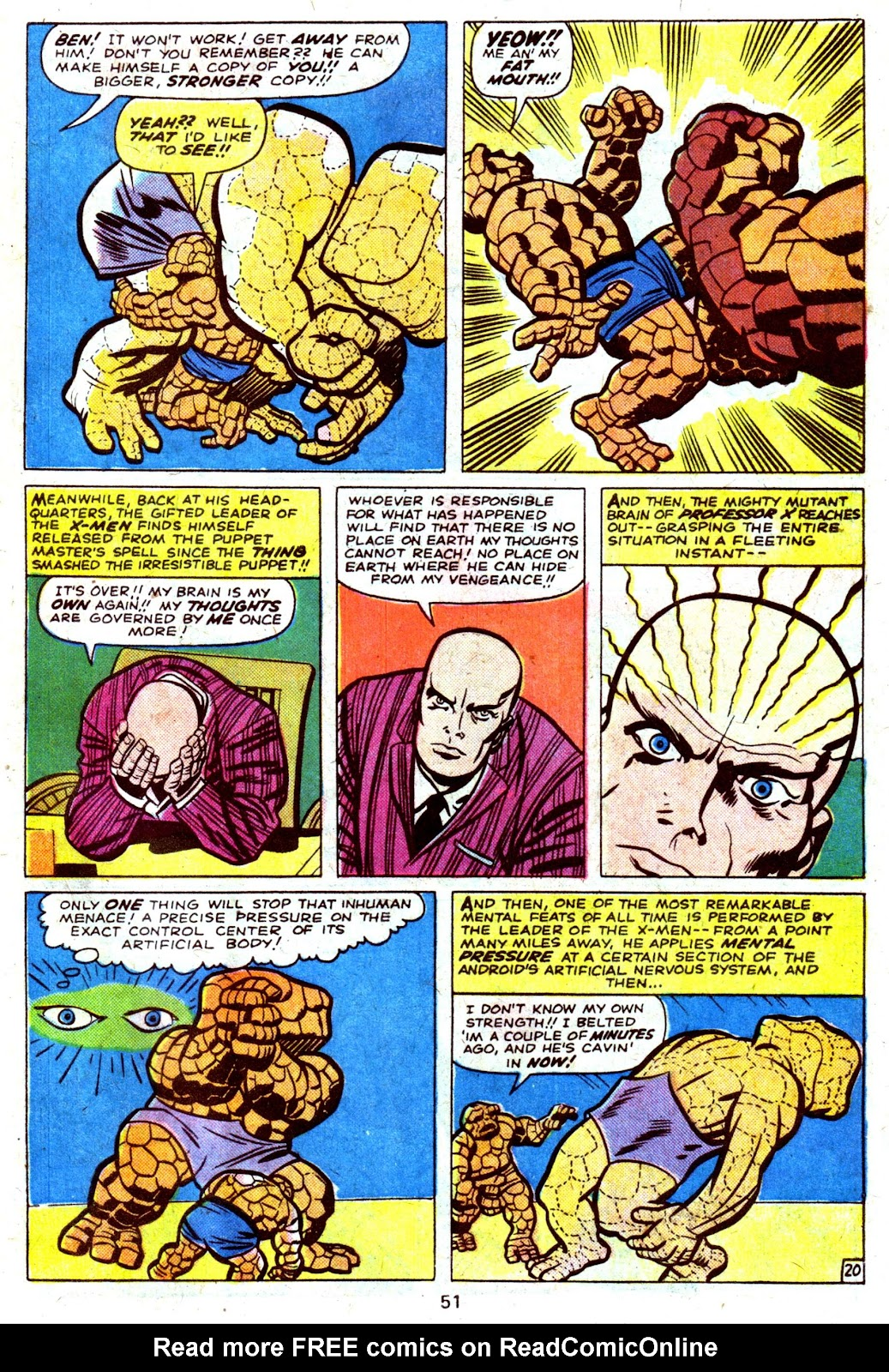 Giant-Size Fantastic Four issue 4 - Page 53