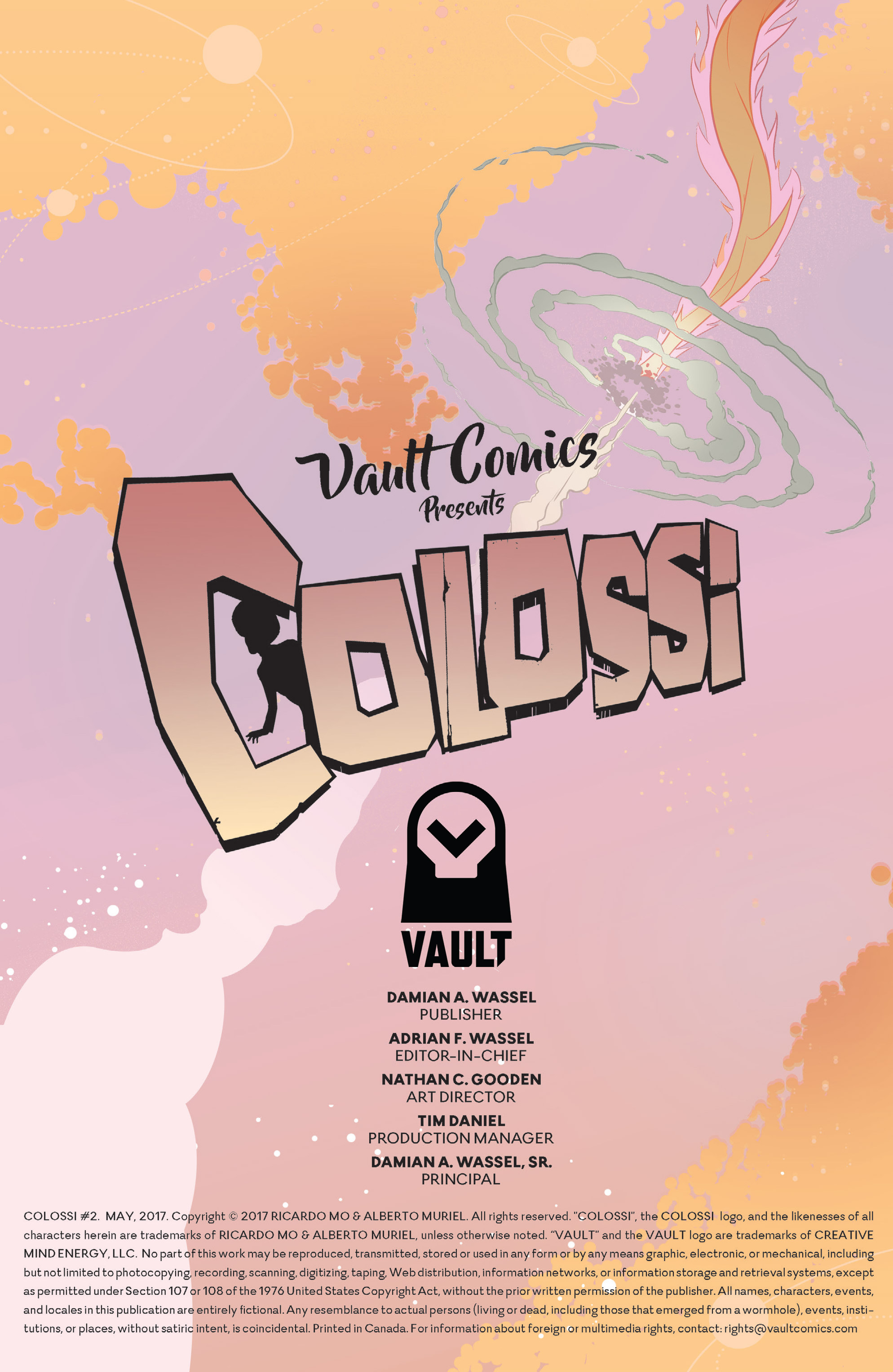 Read online Colossi comic -  Issue #2 - 2