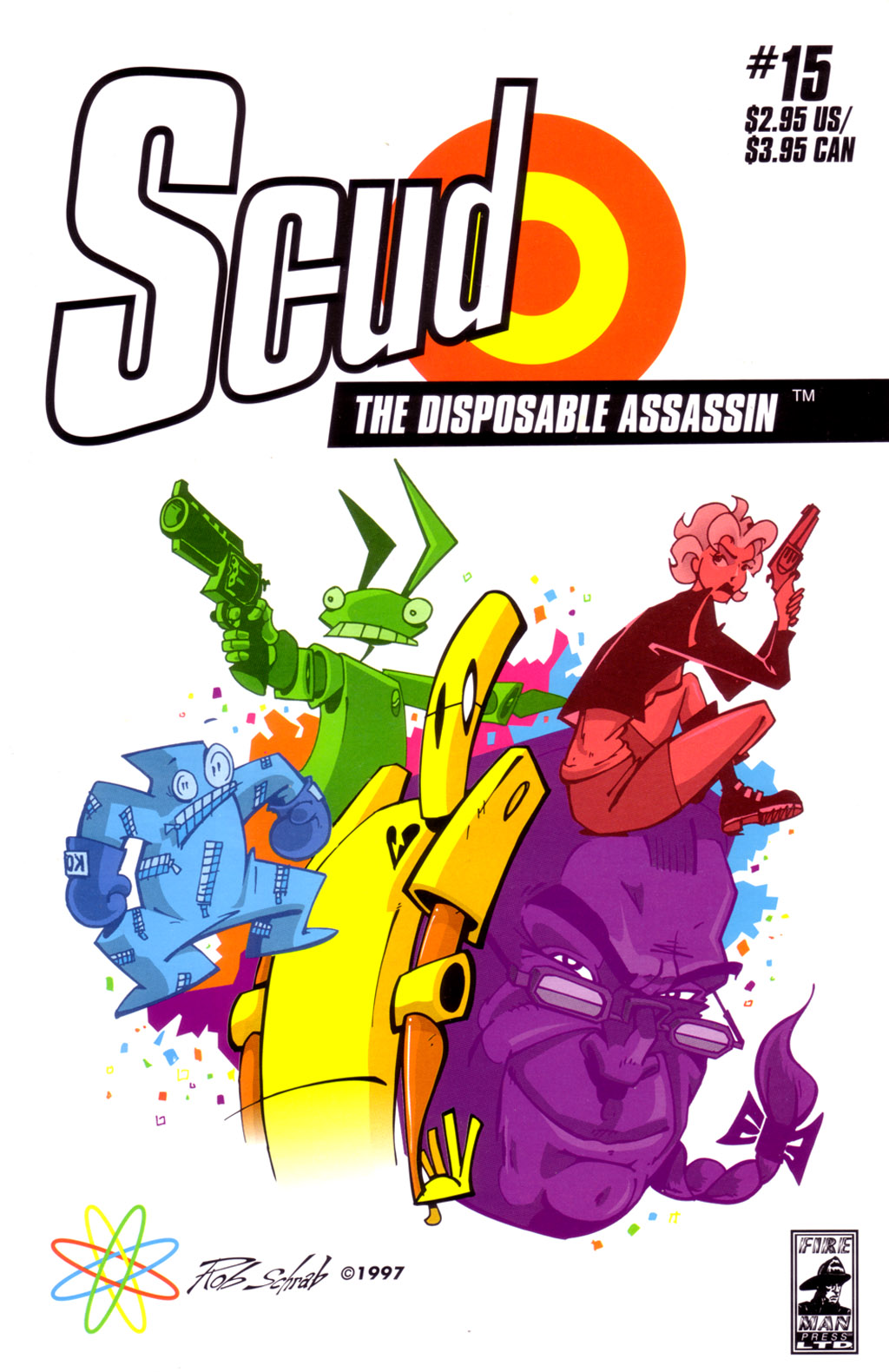 Read online Scud: The Disposable Assassin (1994) comic -  Issue #15 - 1