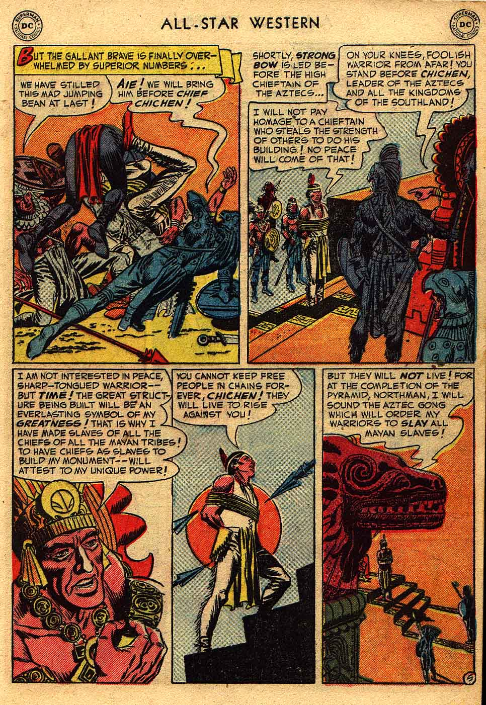 Read online All-Star Western (1951) comic -  Issue #62 - 7