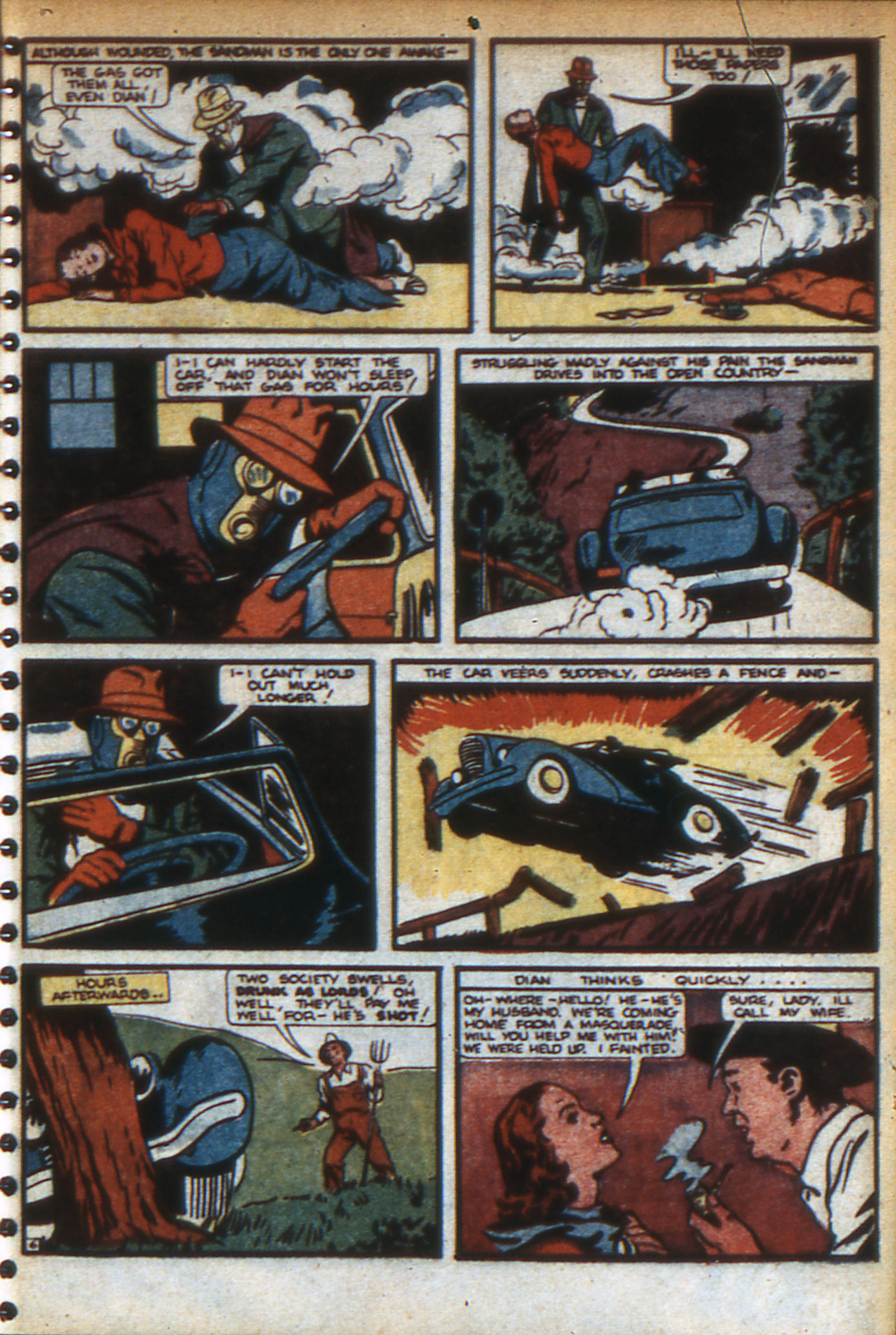 Read online Adventure Comics (1938) comic -  Issue #47 - 10