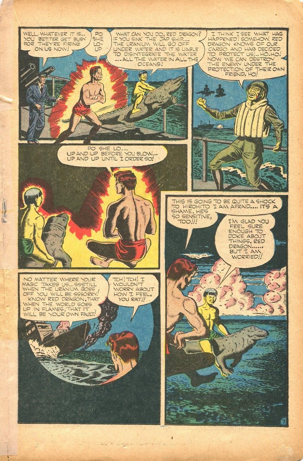 Read online Super-Magician Comics comic -  Issue #35 - 31