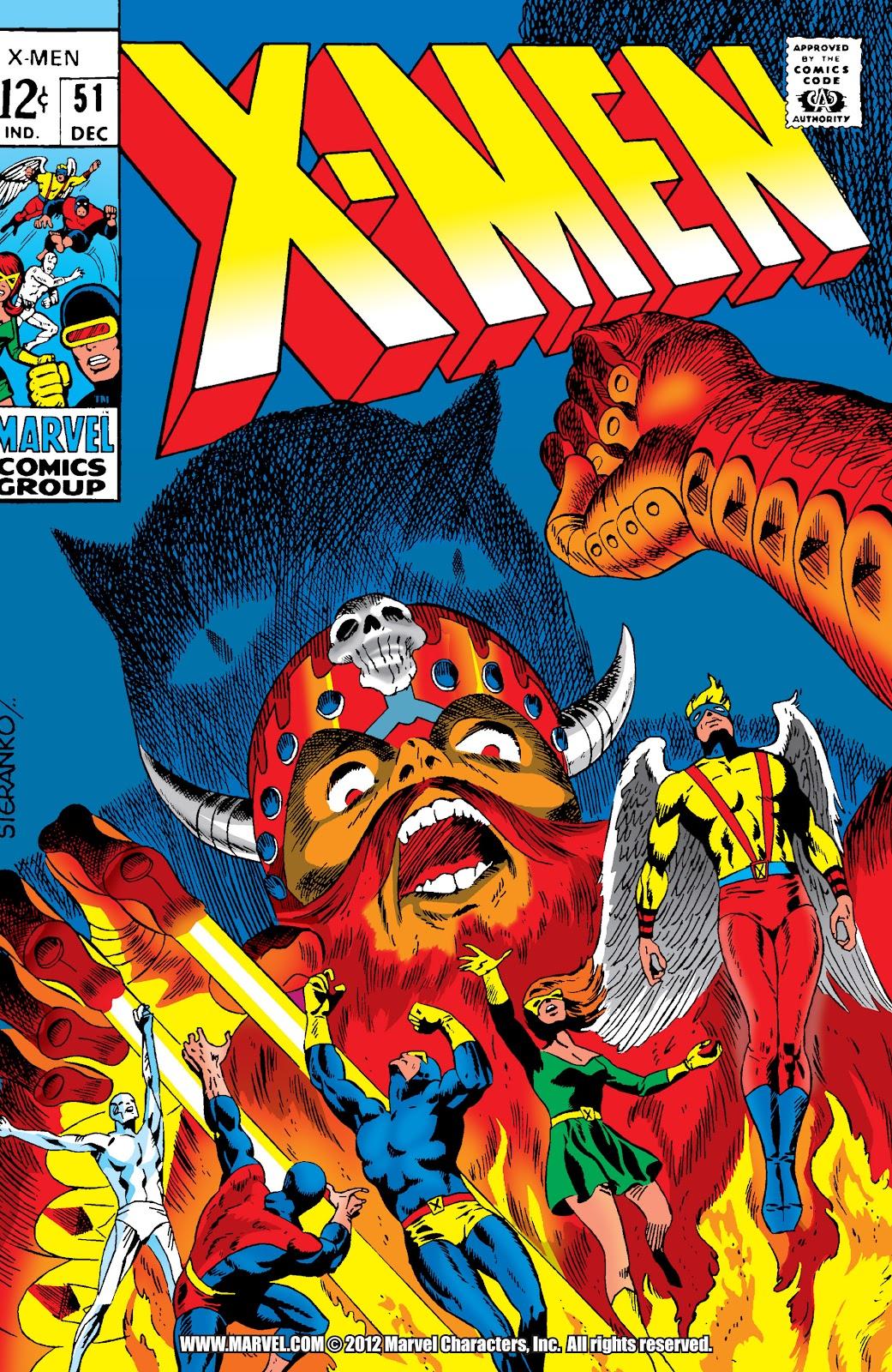 Uncanny X-Men (1963) issue 51 - Page 1