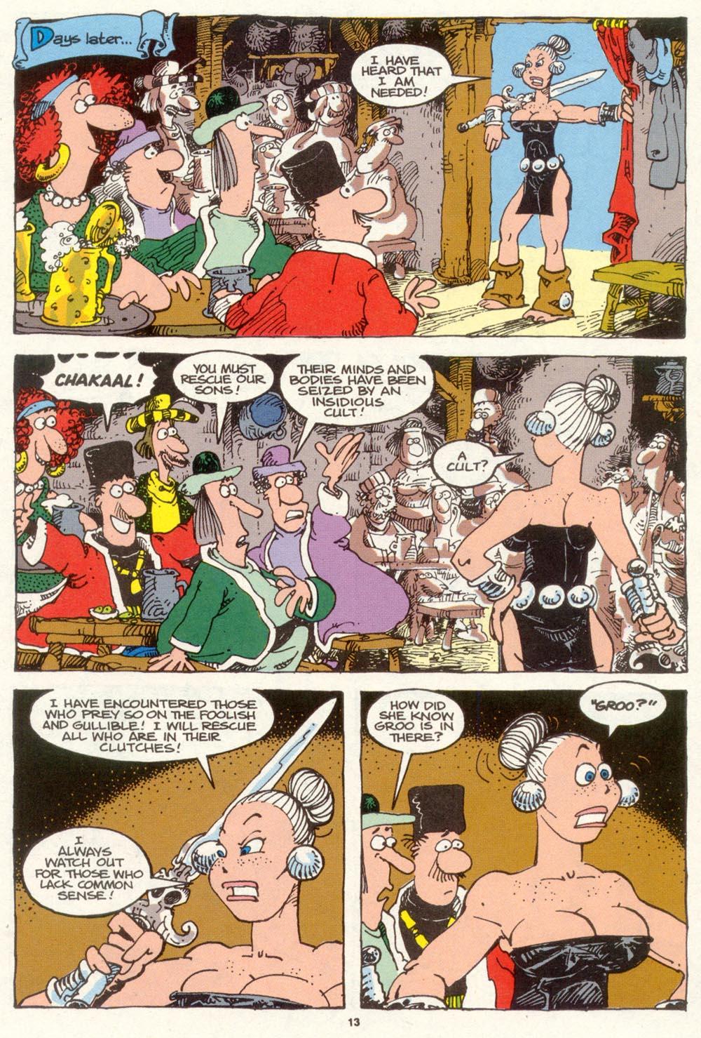Read online Sergio Aragonés Groo the Wanderer comic -  Issue #89 - 14