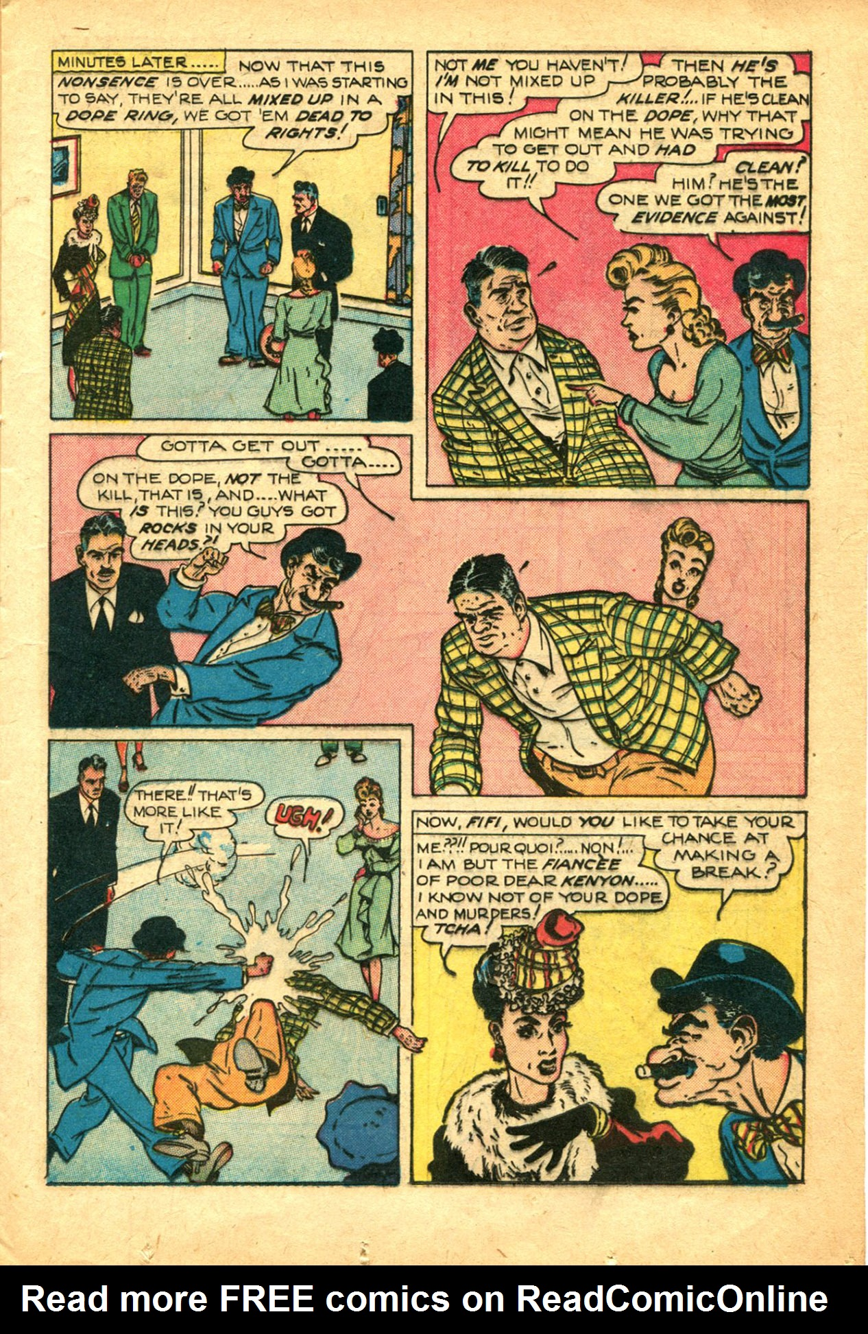 Read online Shadow Comics comic -  Issue #78 - 21