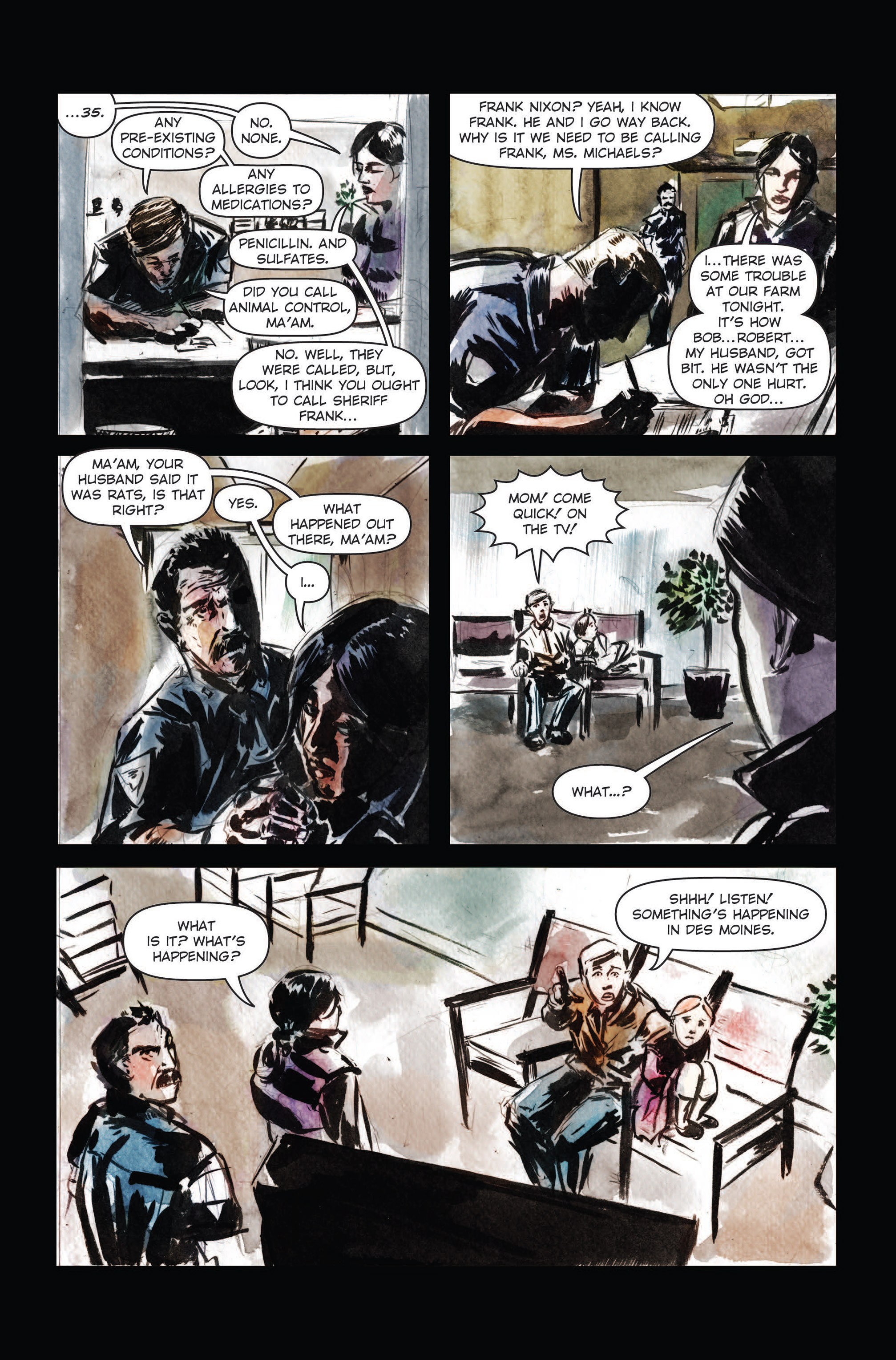 Read online The Final Plague comic -  Issue #3 - 15