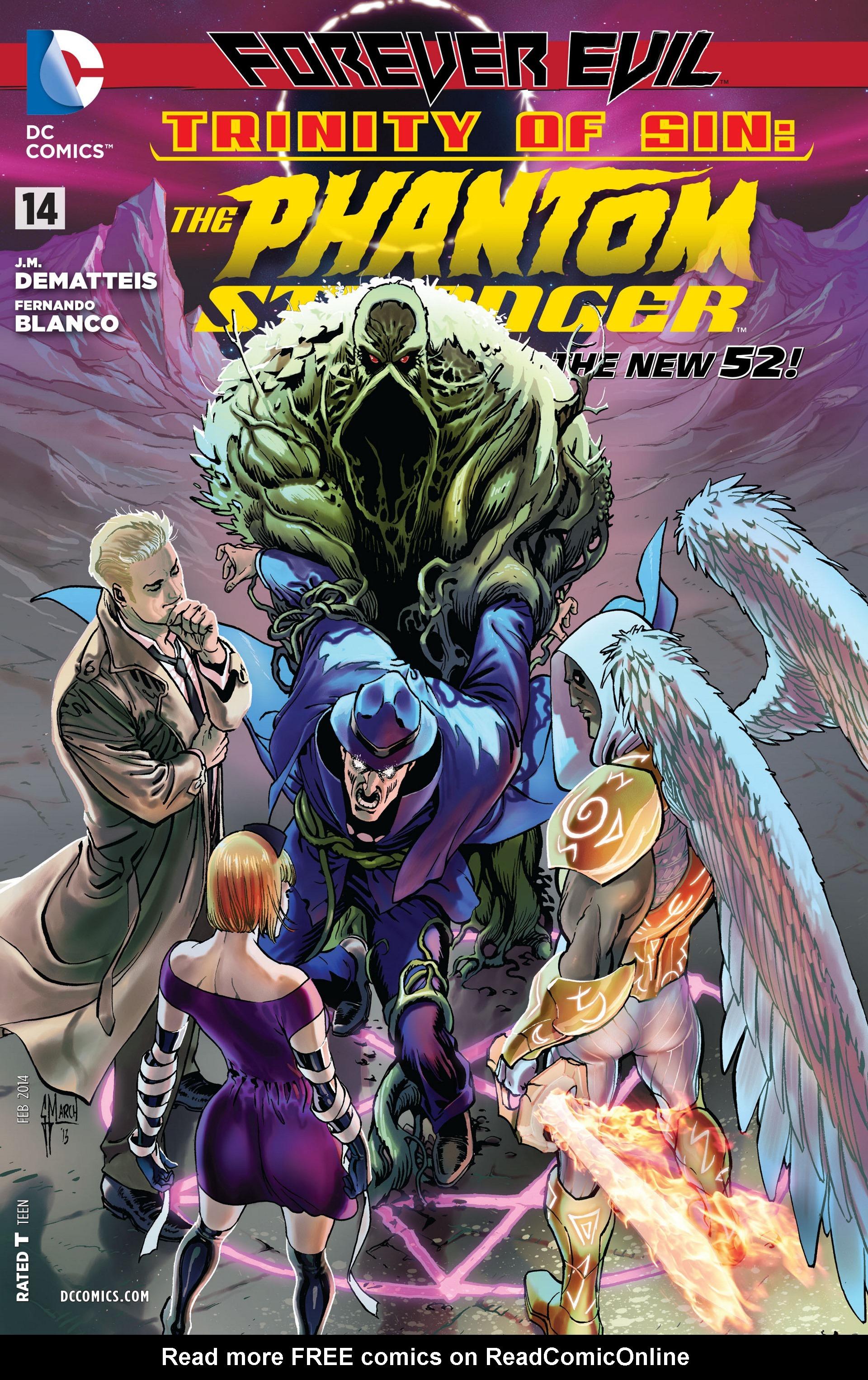 Read online Trinity of Sin: The Phantom Stranger comic -  Issue #14 - 1