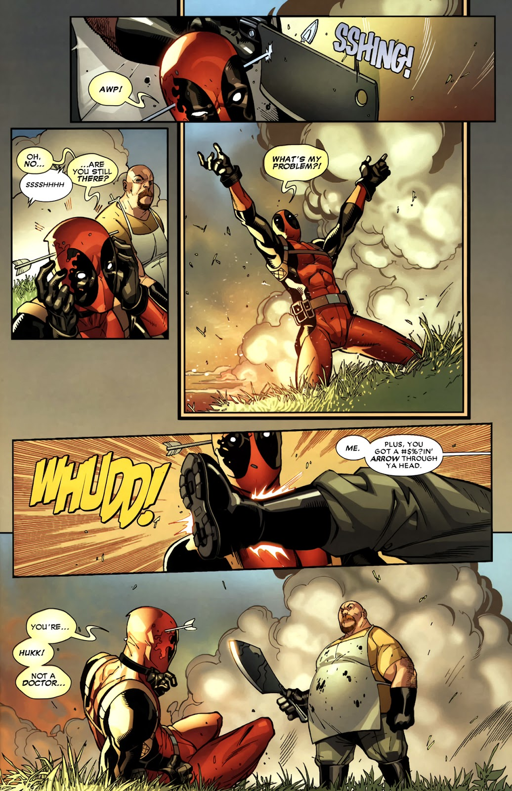 Read online Deadpool (2008) comic -  Issue #11 - 8