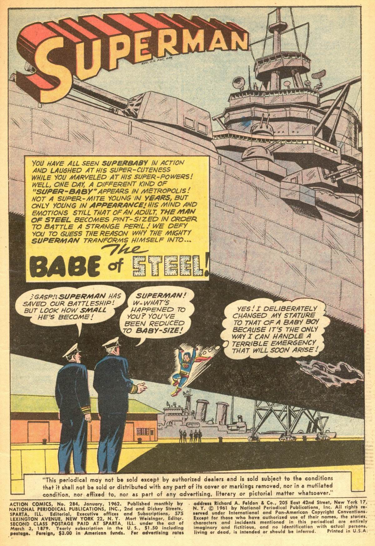 Read online Action Comics (1938) comic -  Issue #284 - 3