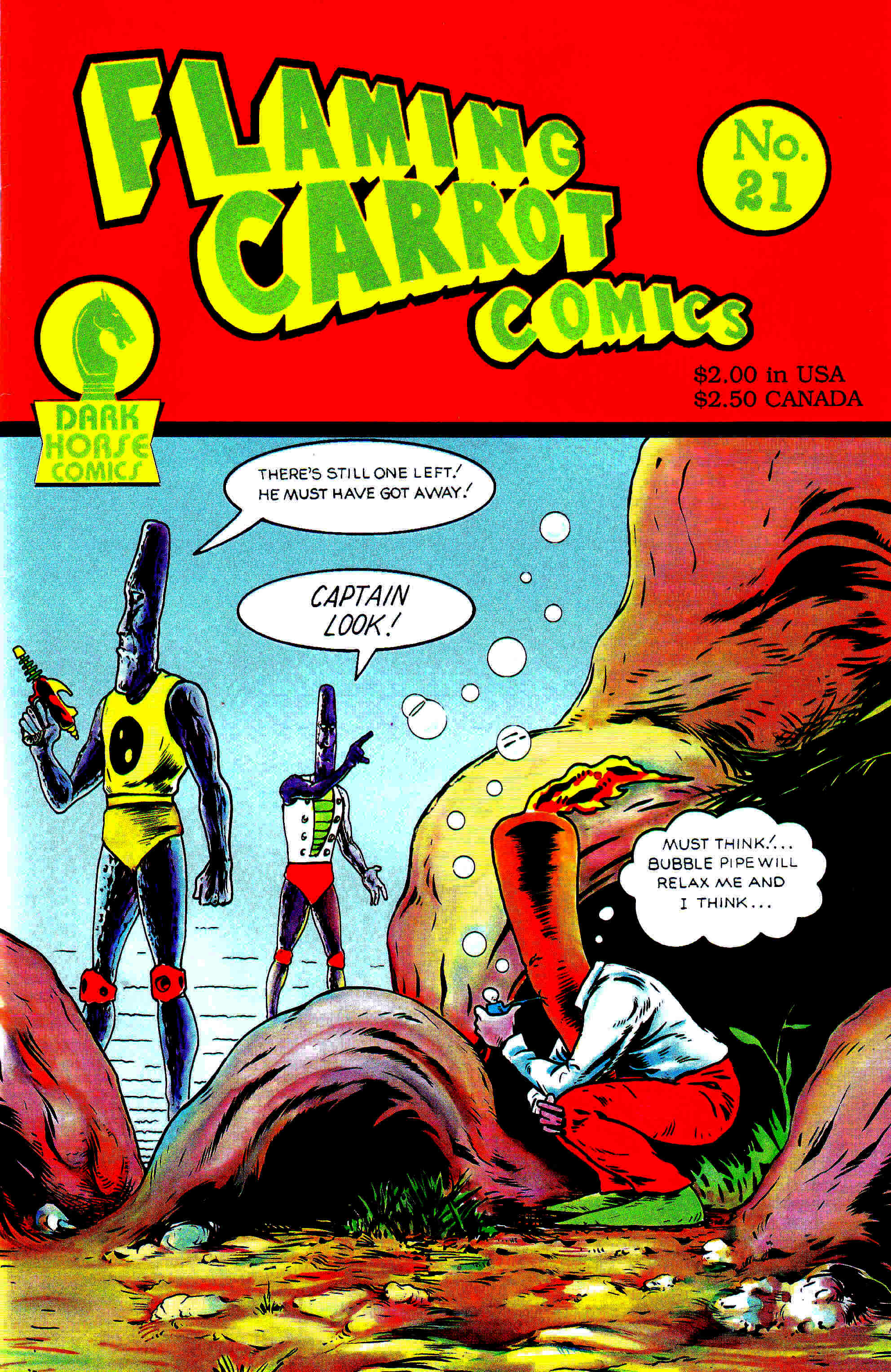 Read online Flaming Carrot Comics (1988) comic -  Issue #21 - 1