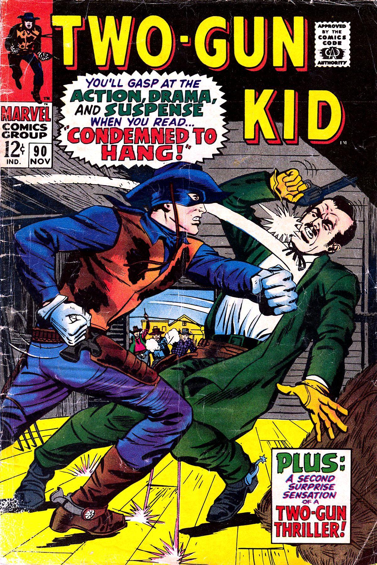 Read online Two-Gun Kid comic -  Issue #90 - 1
