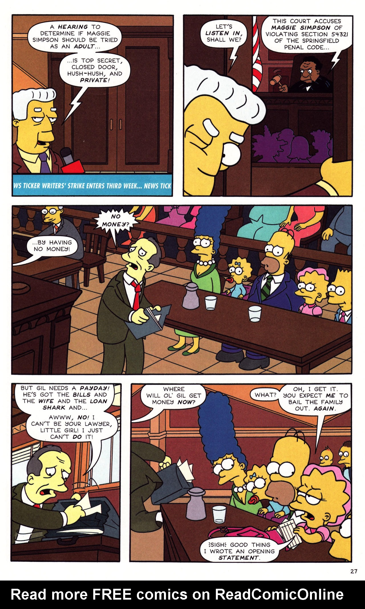 Read online Simpsons Comics Presents Bart Simpson comic -  Issue #39 - 23