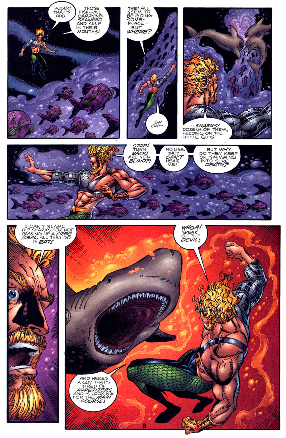 Read online Aquaman (1994) comic -  Issue #58 - 8