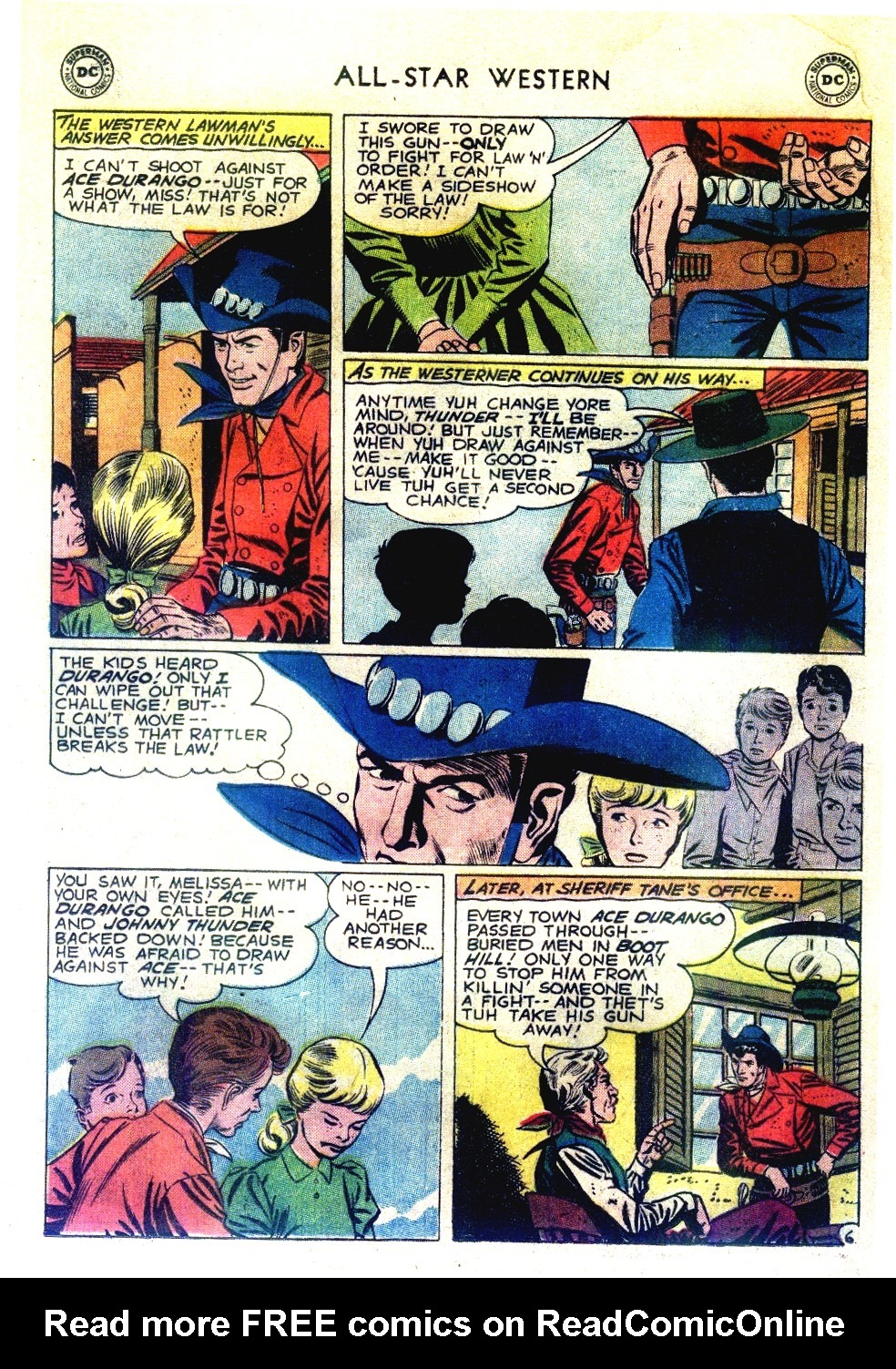 Read online All-Star Western (1951) comic -  Issue #111 - 8