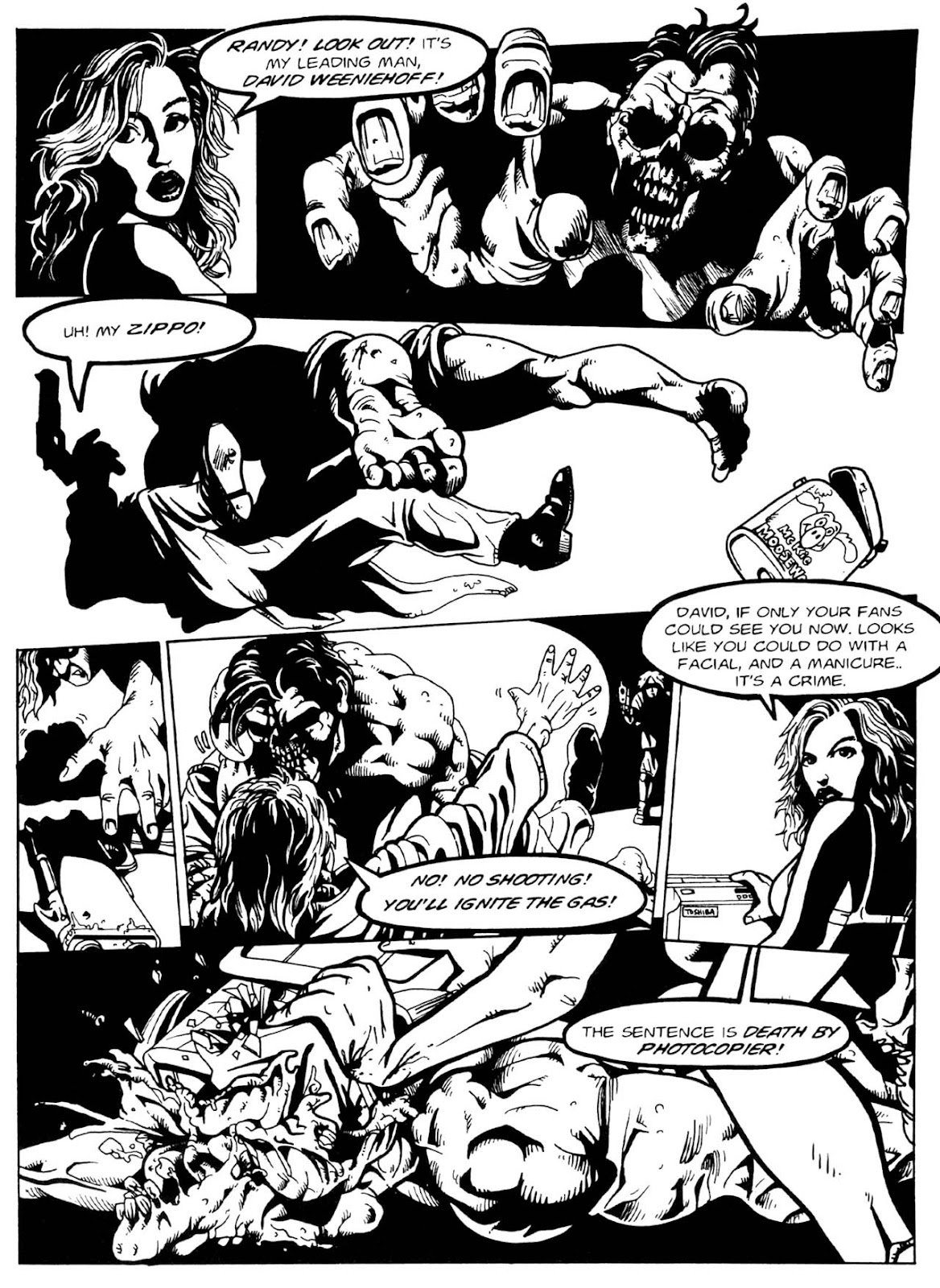 Read online Night of the Living Dead (1994) comic -  Issue #1 - 31