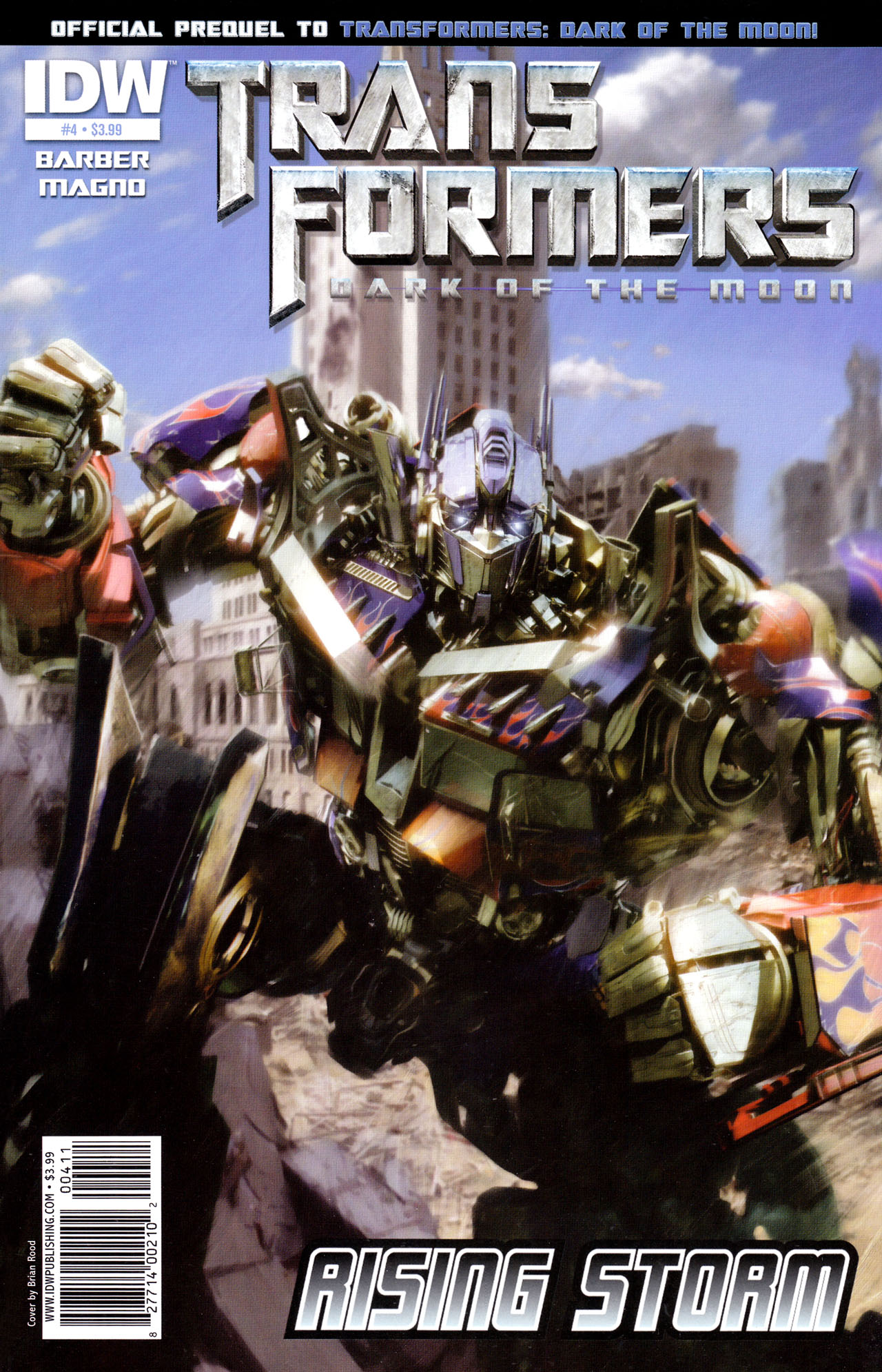 Read online Transformers: Dark of the Moon Rising Storm comic -  Issue #4 - 1