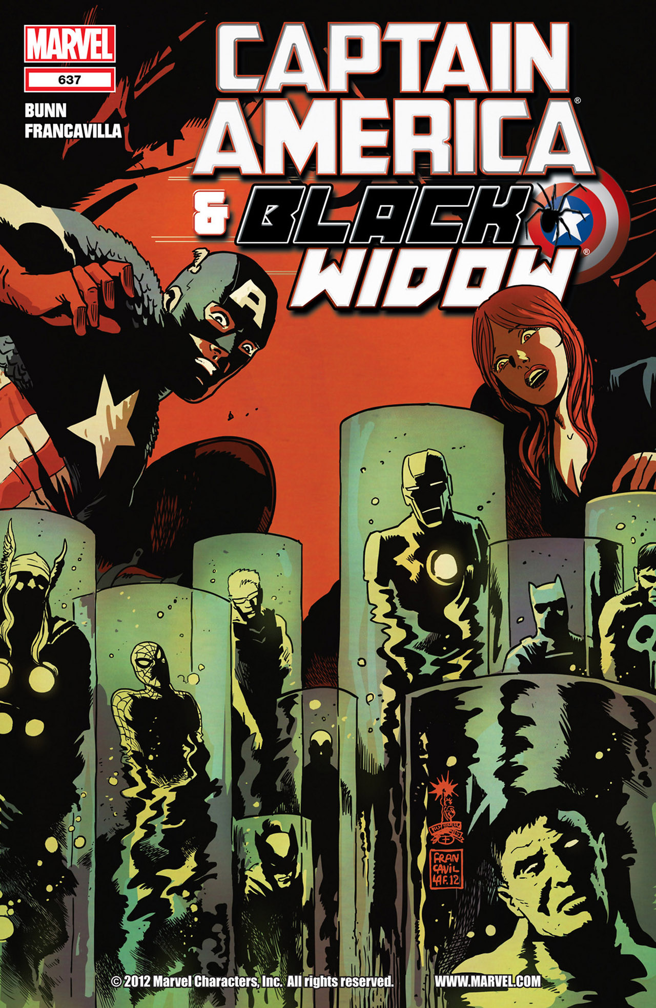 Read online Captain America And Black Widow comic -  Issue #637 - 1