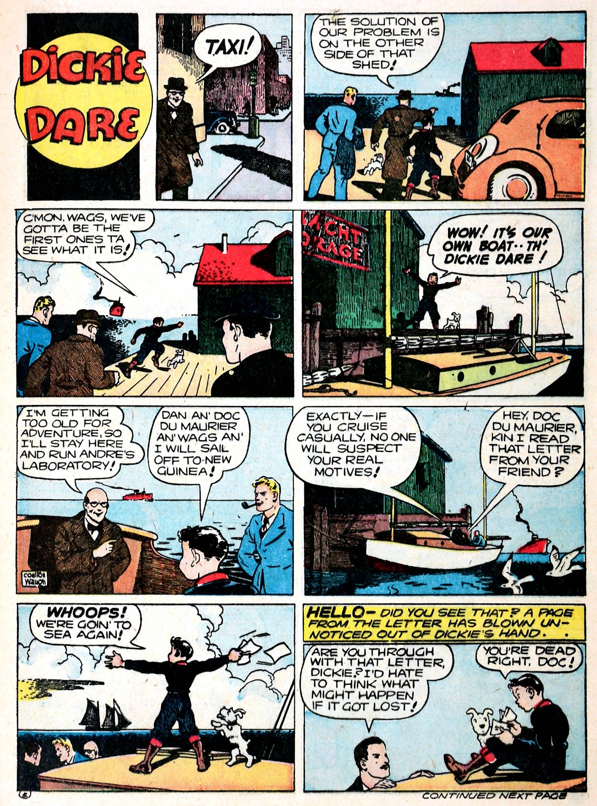 Read online Famous Funnies comic -  Issue #93 - 25