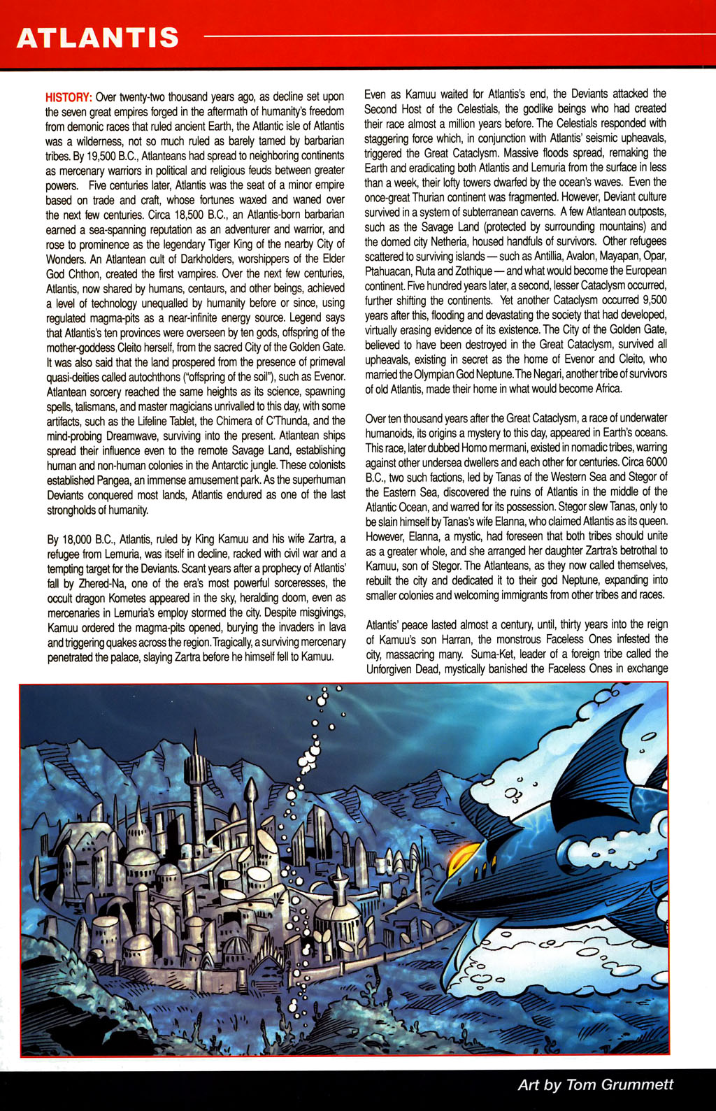 Read online All-New Official Handbook of the Marvel Universe A to Z comic -  Issue #1 - 34