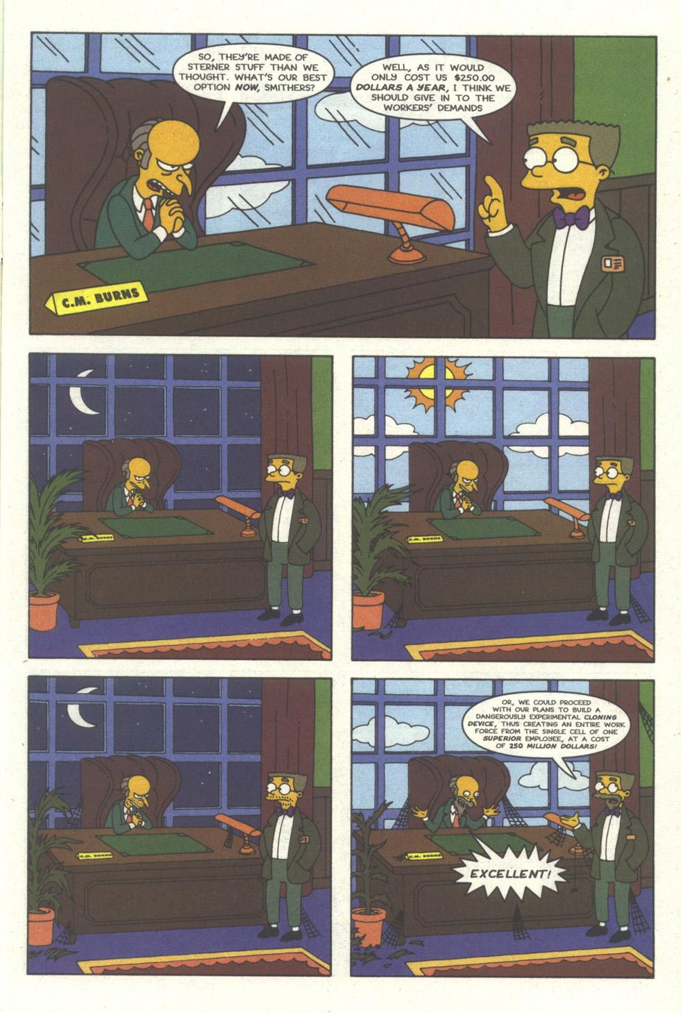 Read online Simpsons Comics comic -  Issue #30 - 4