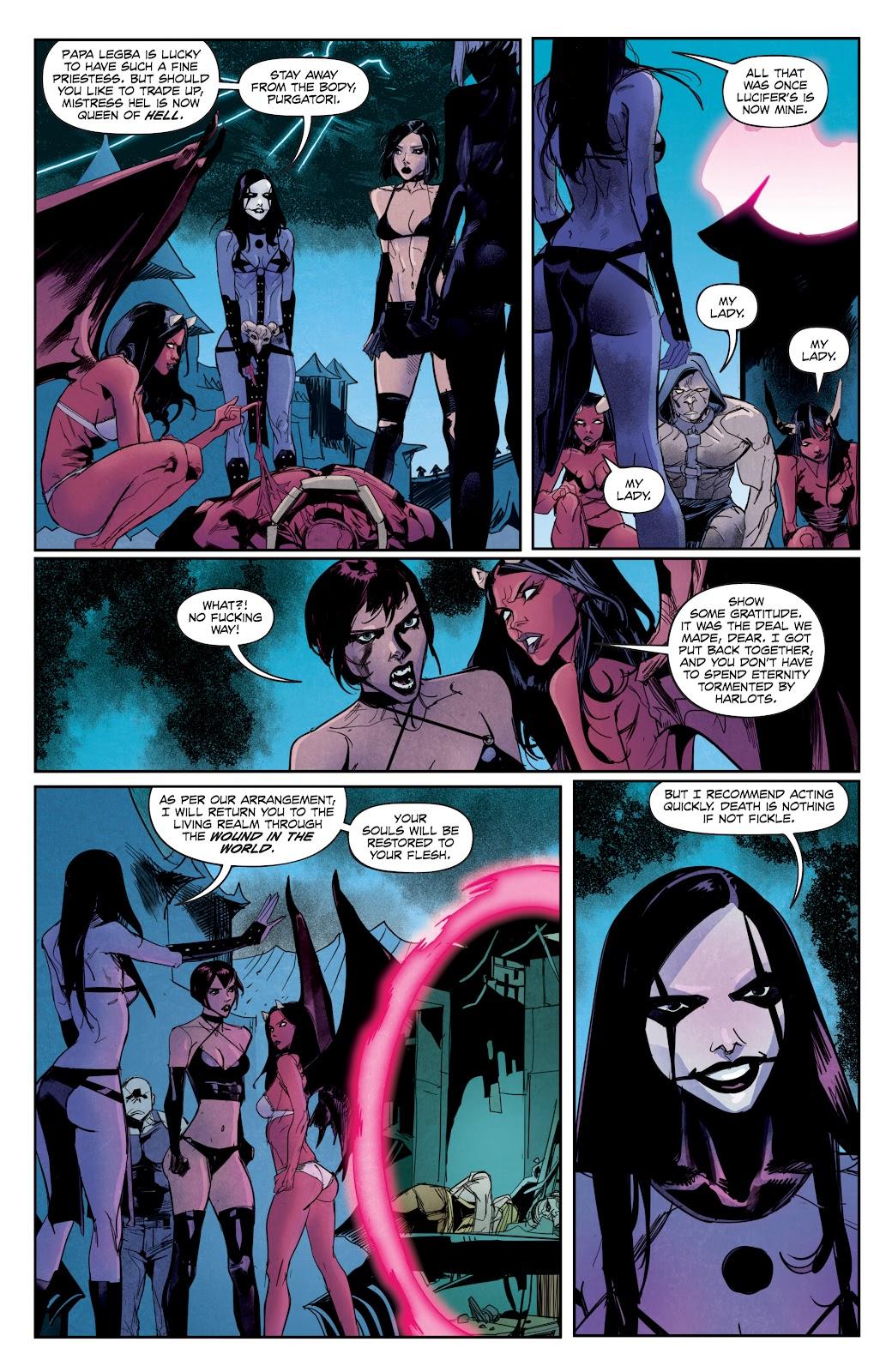Read online Hack/Slash vs. Chaos comic -  Issue #5 - 17
