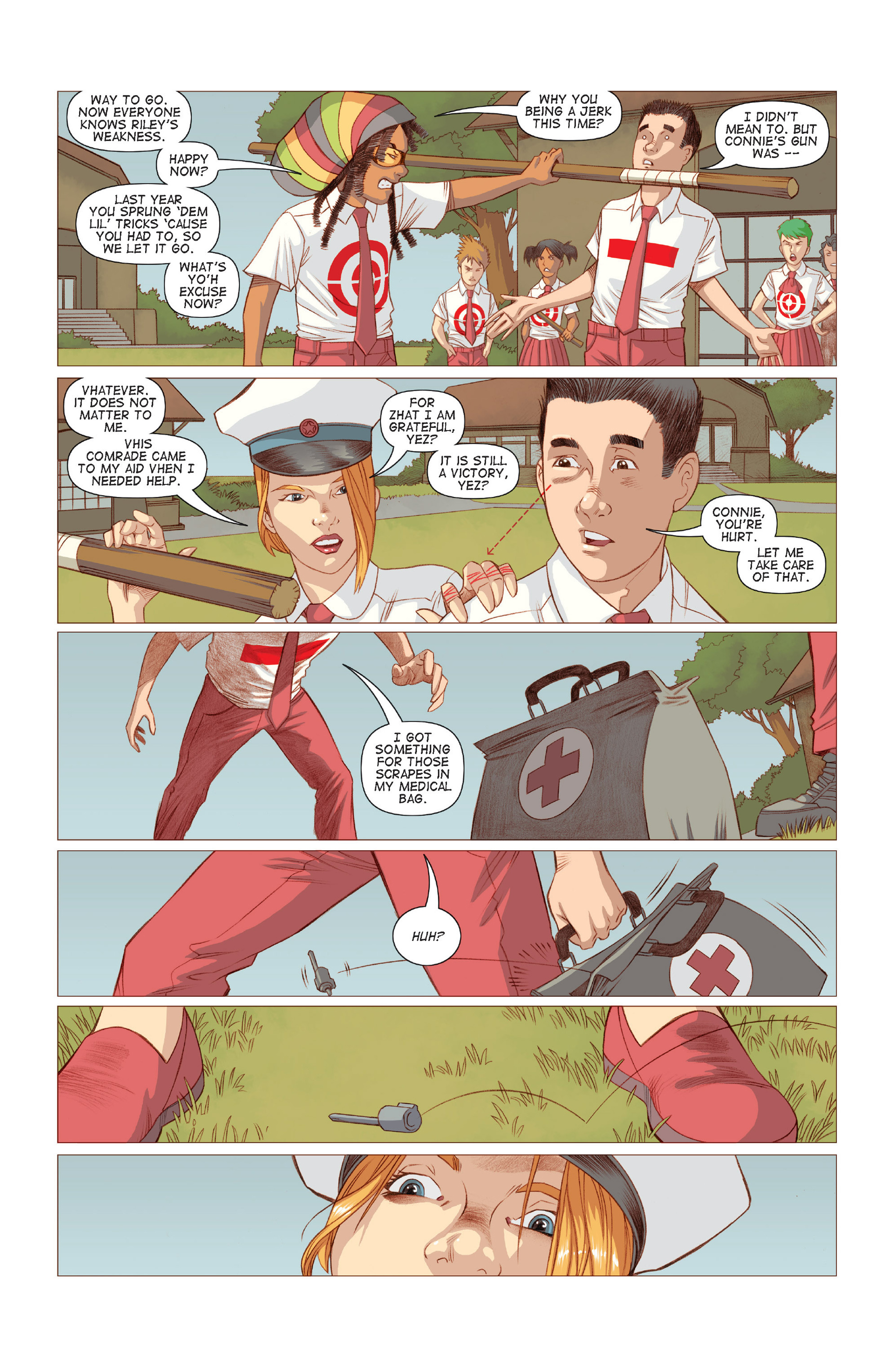 Read online Five Weapons comic -  Issue #7 - 6