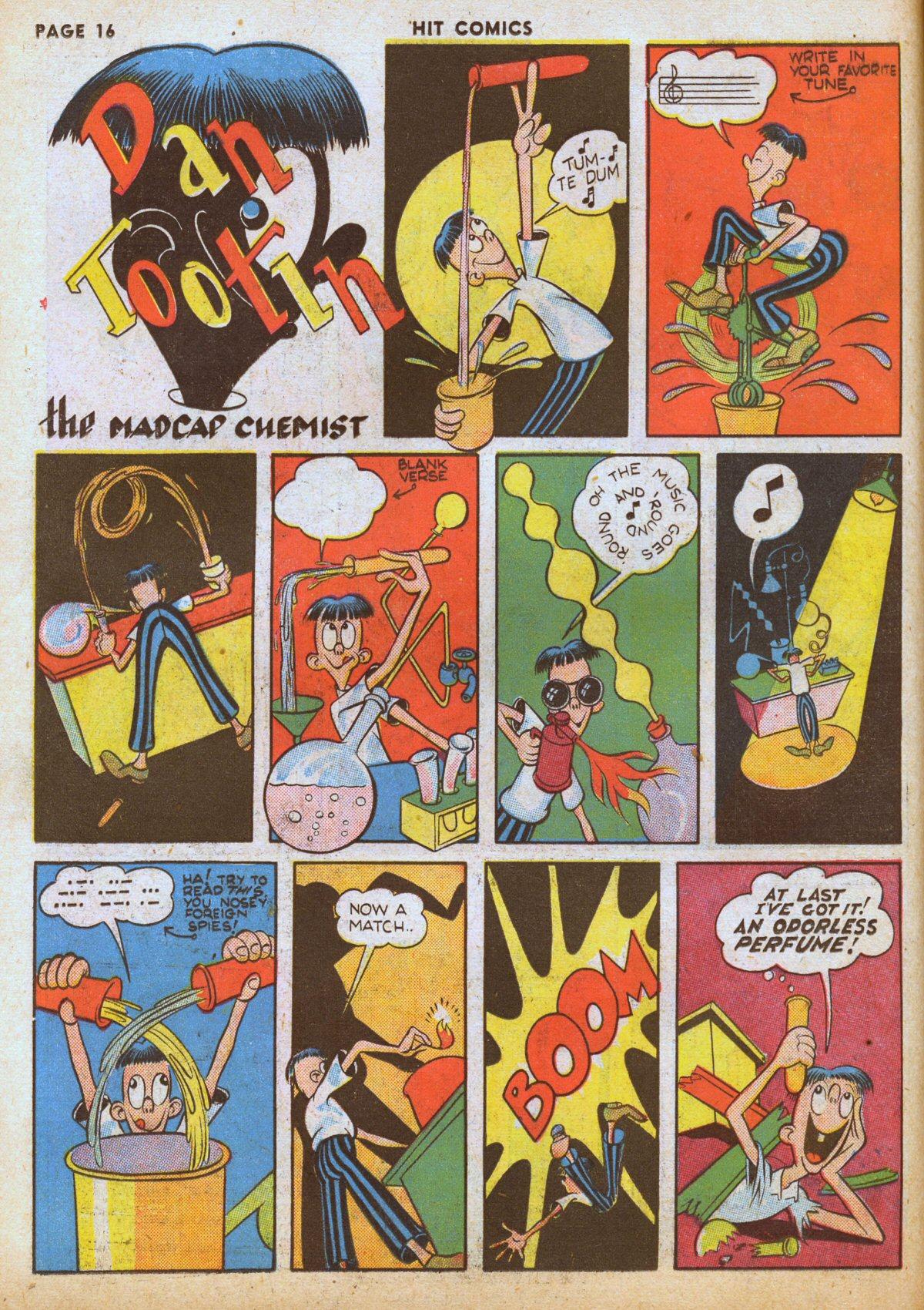 Read online Hit Comics comic -  Issue #12 - 18