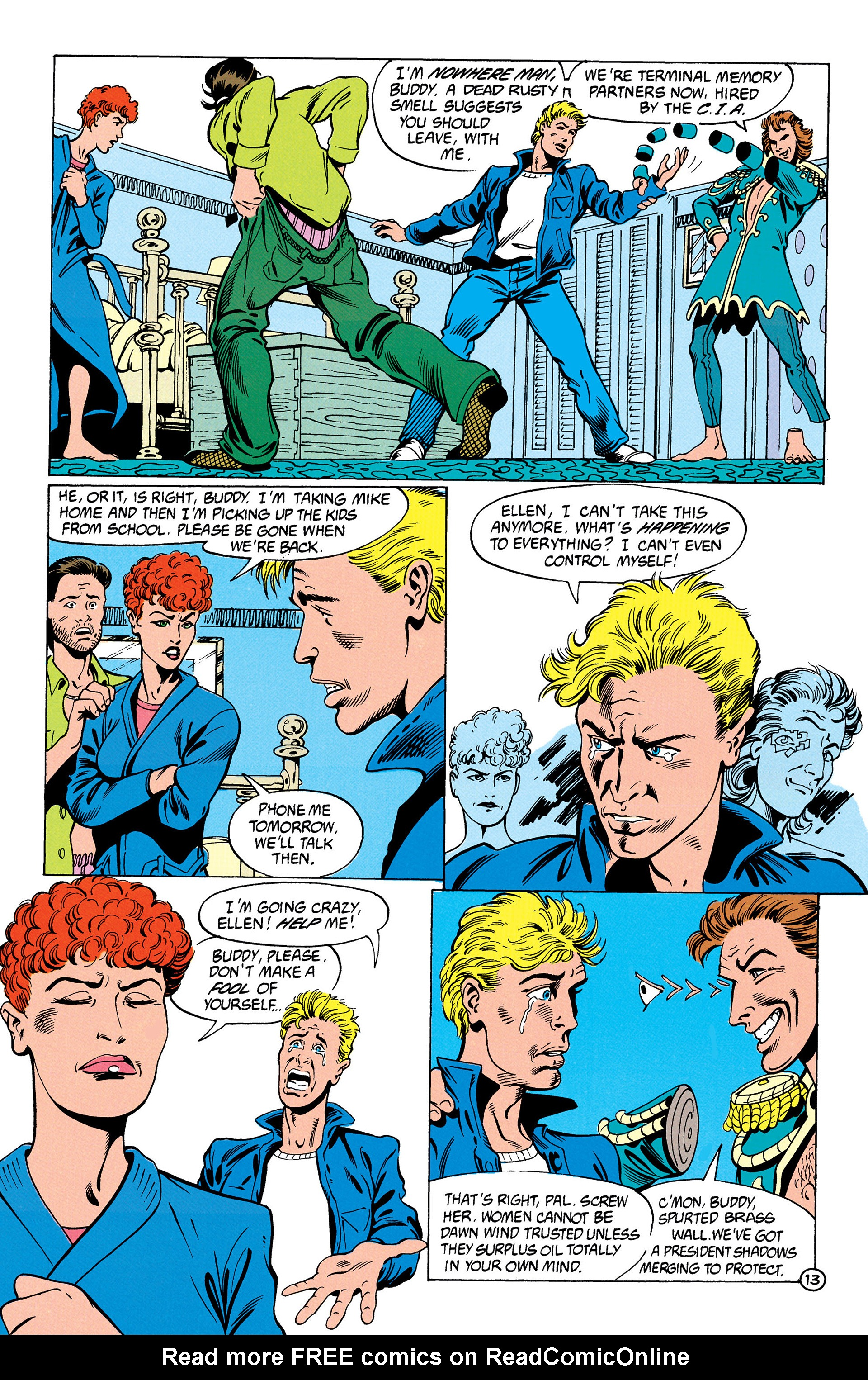 Read online Animal Man (1988) comic -  Issue #28 - 14